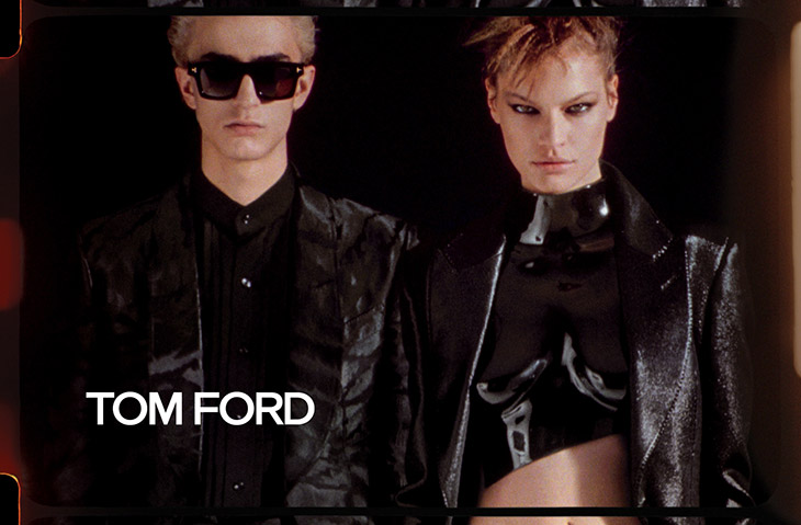 Tom Ford Spring 2020 Fashion Ad Campaign Photos