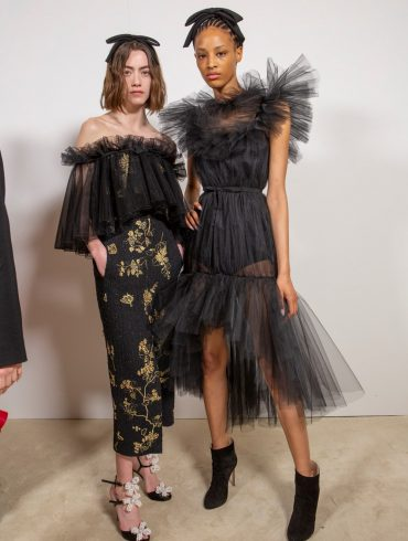 Giambattista Valli Fall 2020 Fashion Show Backstage