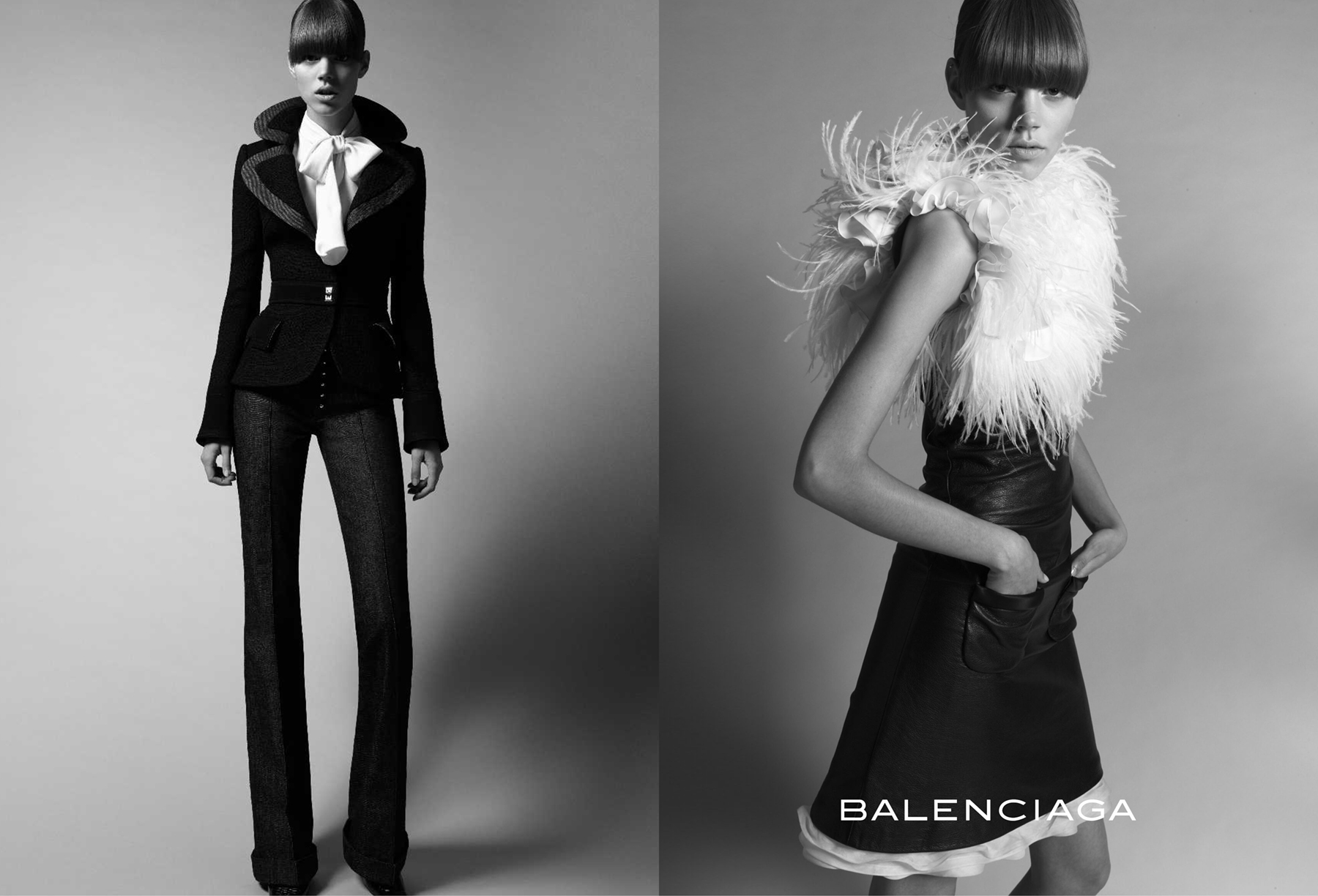Balenciaga Fashion Ad Archive Photos