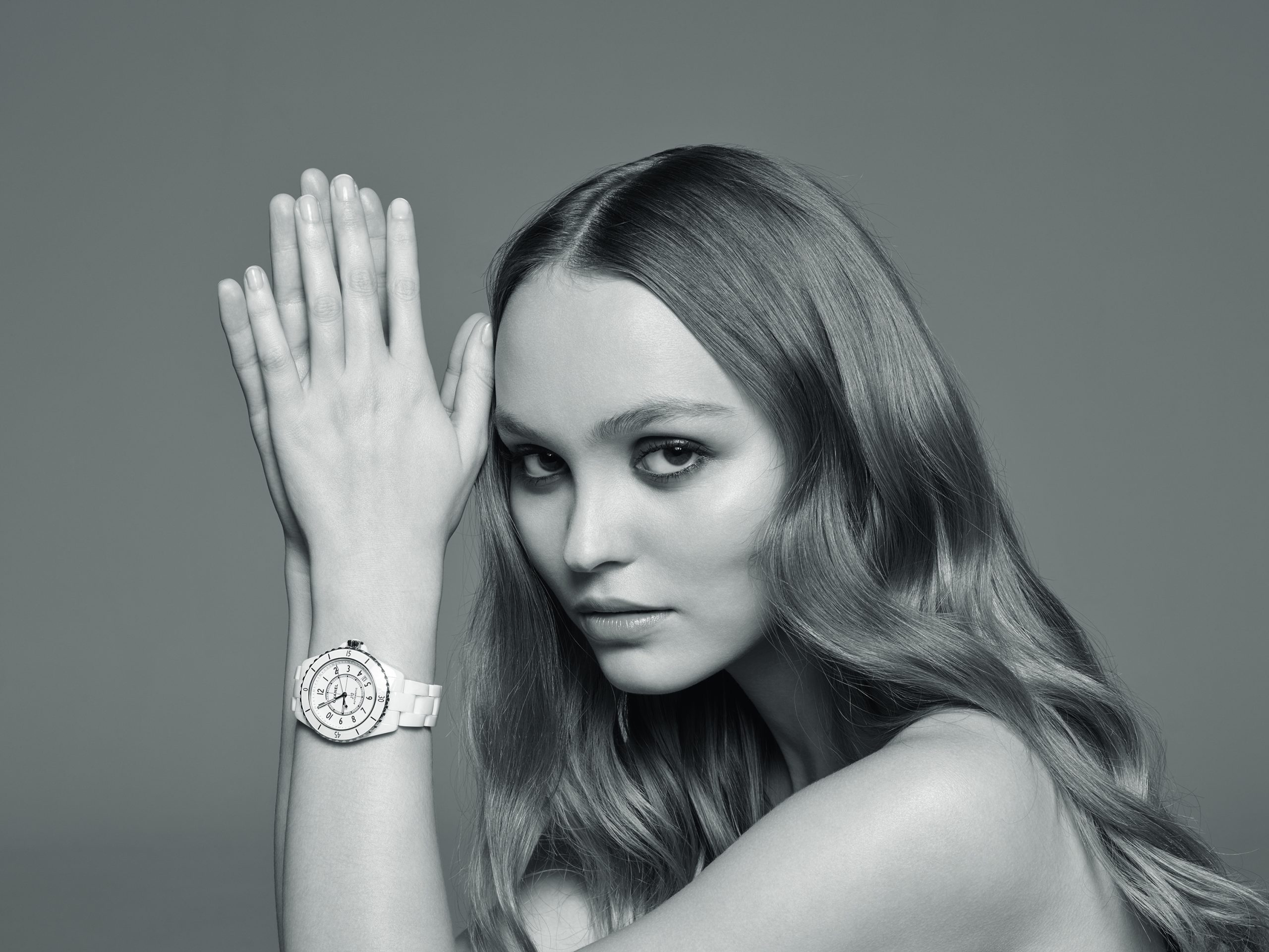 Chanel J12 Spring 2020 Ad Campaign with Lily-Rose Depp, Naomi Campbell, and Claudia Schiffer Photos
