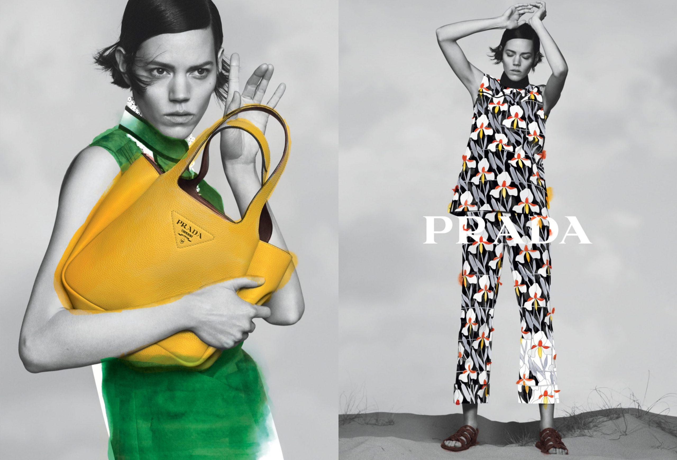 Prada Pre-Fall 2020 Fashion Ad Campaign Photos