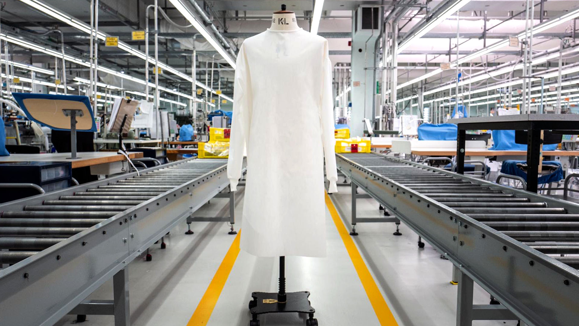 Zegna Group to Produce 280,000 Protective Hospital Suits