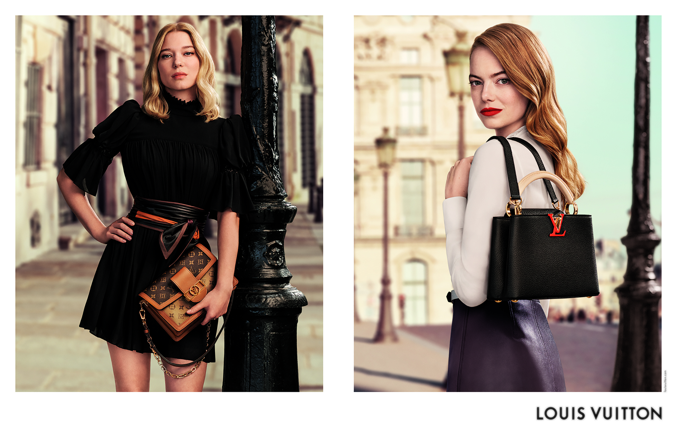 Louis Vuitton Leathergoods 'New Classics' Spring 2020 Fashion Ad Campaign Photos