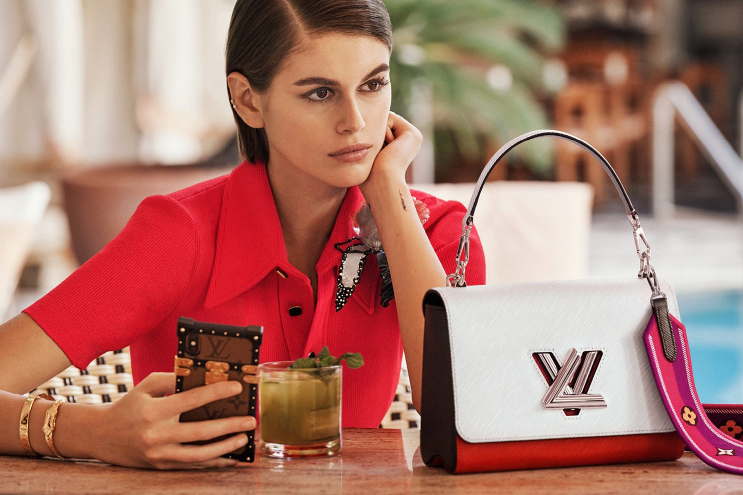 Louis Vuitton Twist Bag Spring 2020 Fashion Ad Campaign Photos