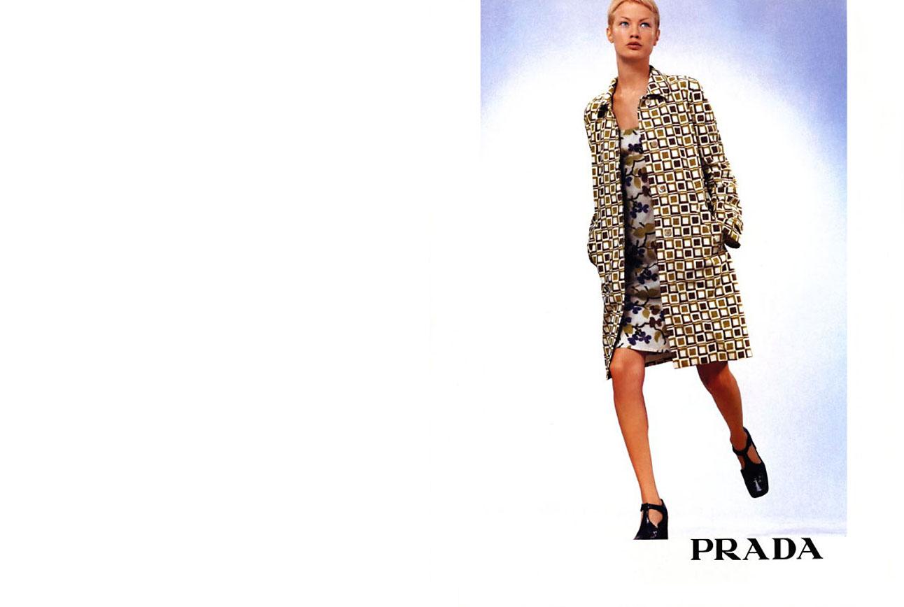 Prada Fashion Ad Archive Photos
