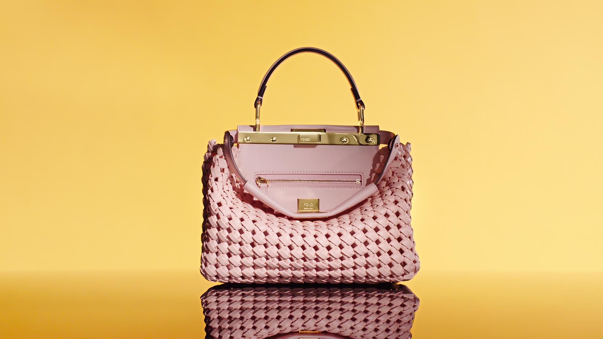 Fendi Peekaboo Handbag Savoir Faire Spring 2020 Ad Campaign Photos