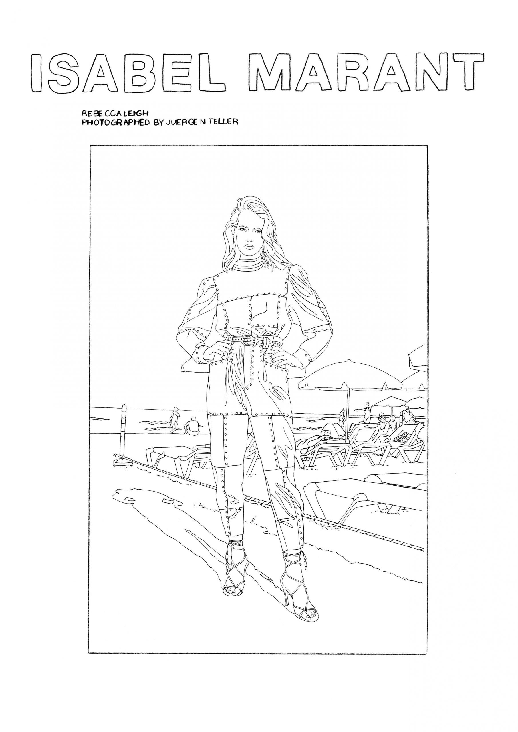 Isabel Marant Pens & Brushes Spring 2020 Digital Campaign