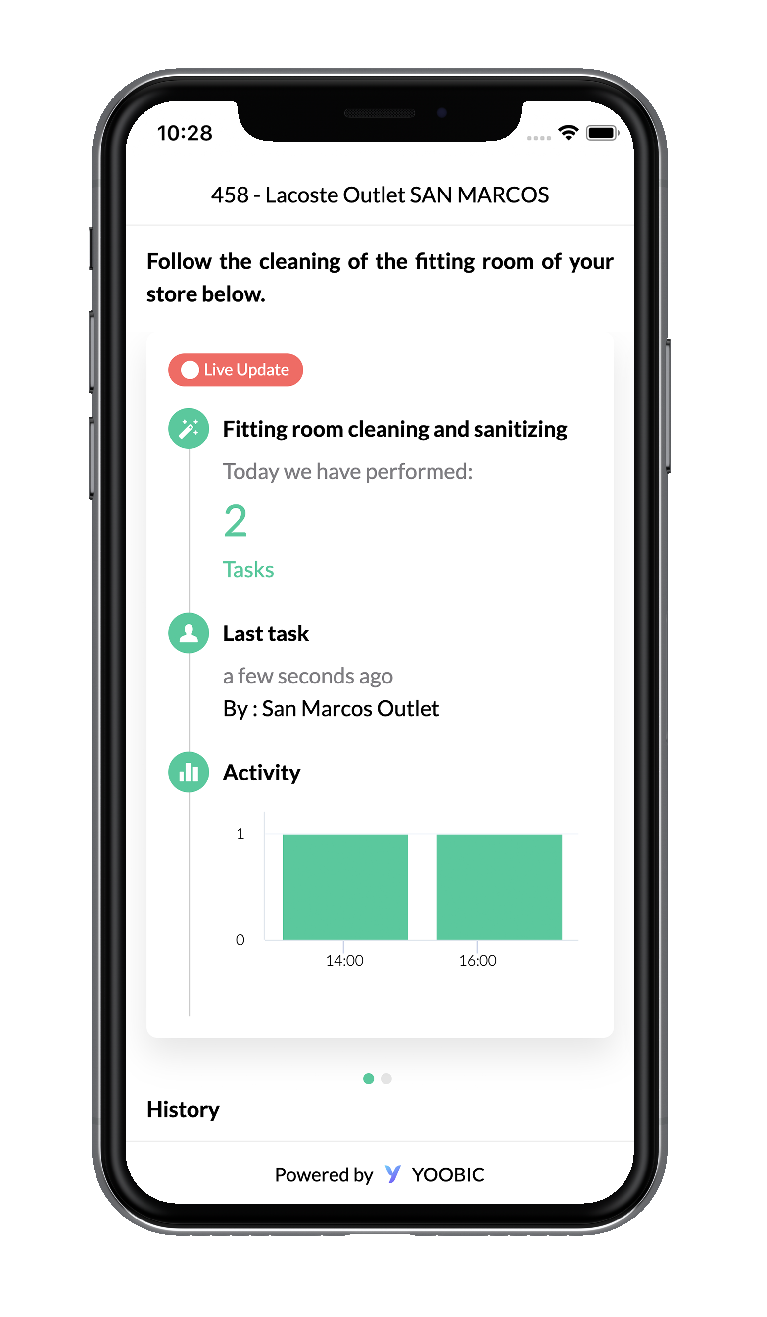 Lacoste Teams With Tech App YOOBIC To Provide Live Updates on Store Safety