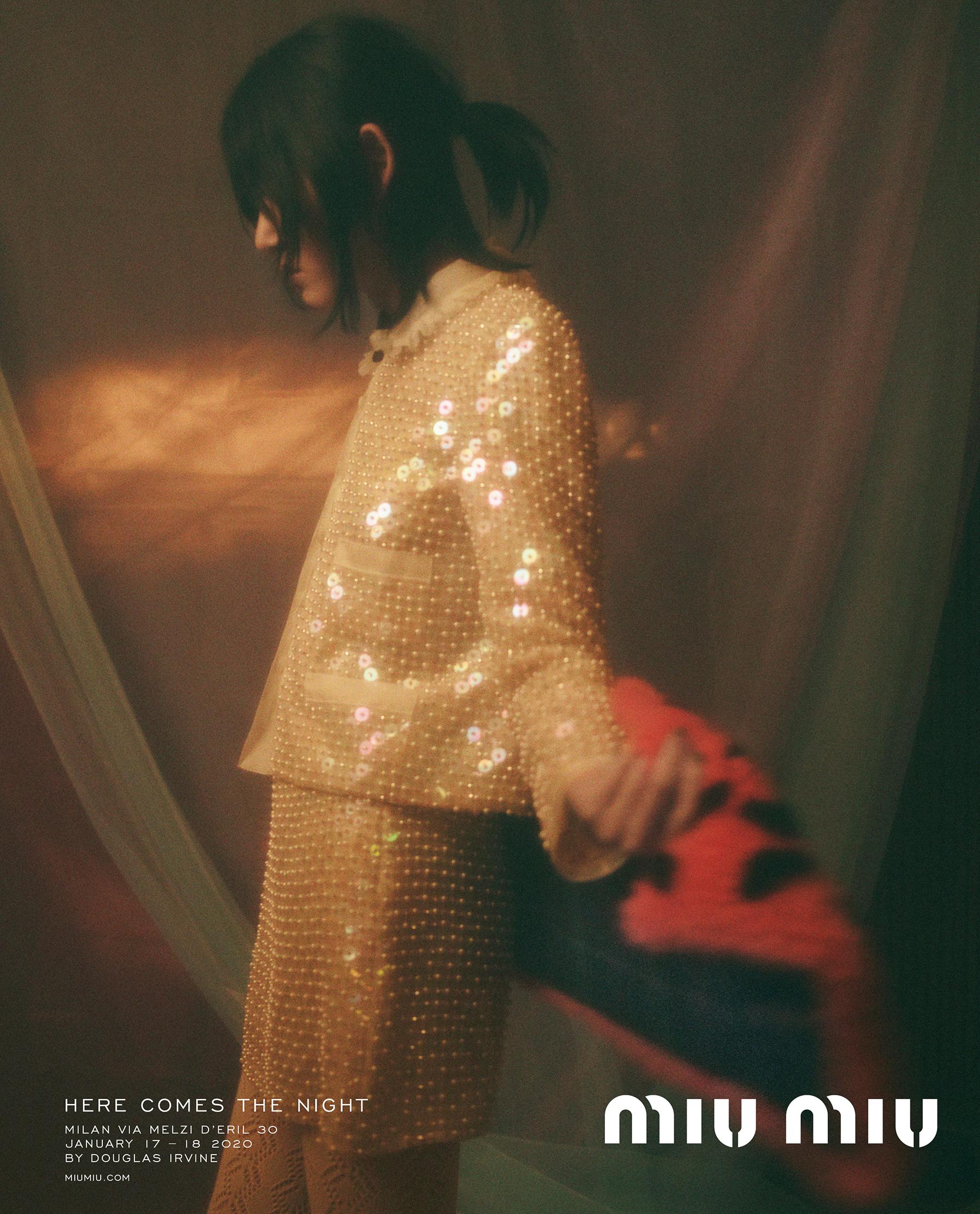 Miu Miu Pre-Fall 2020 Fashion Ad Campaign Photos