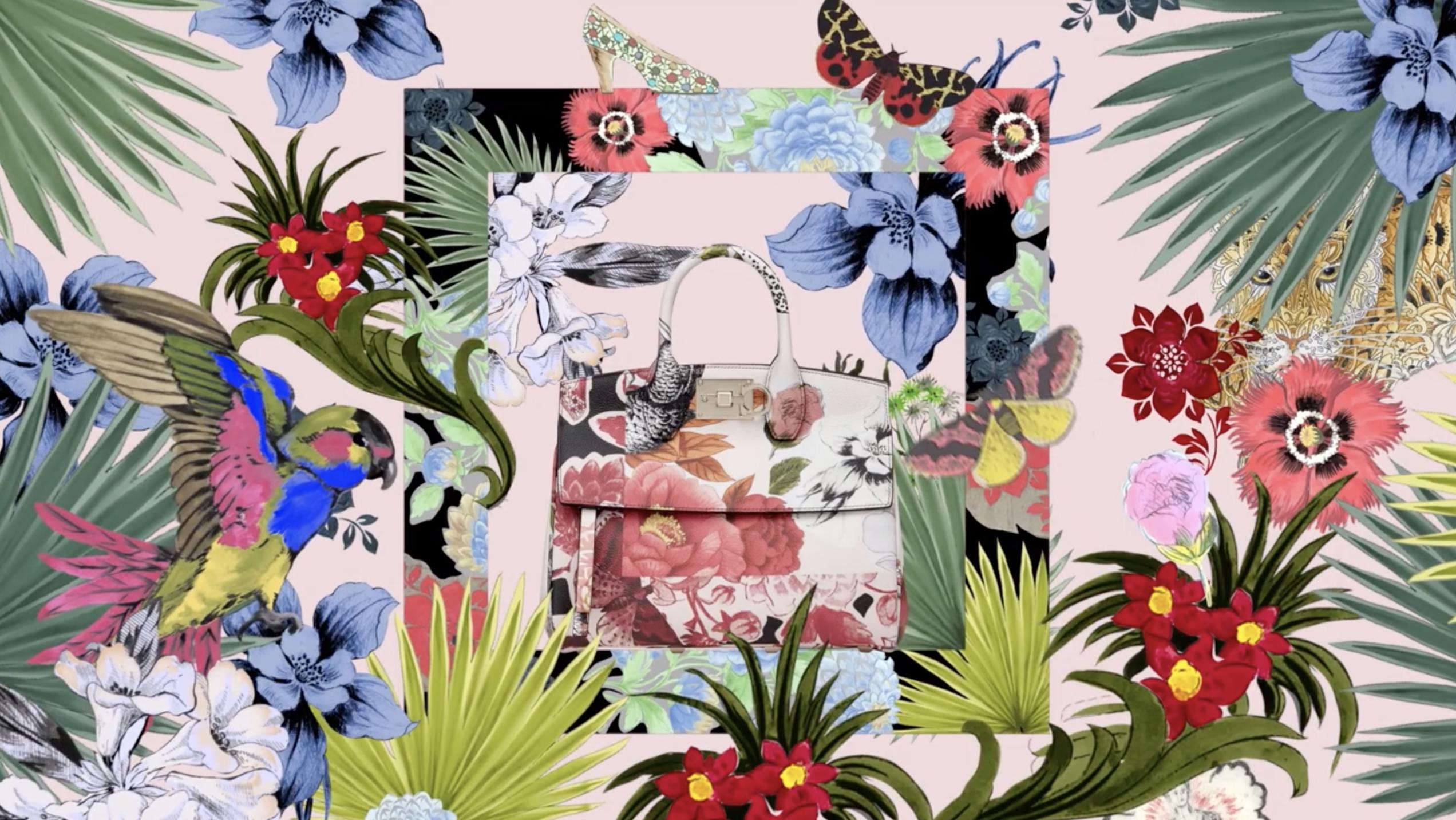 Salvatore Ferragamo 'Magic of Print' Spring 2020 Ad Campaign Photos