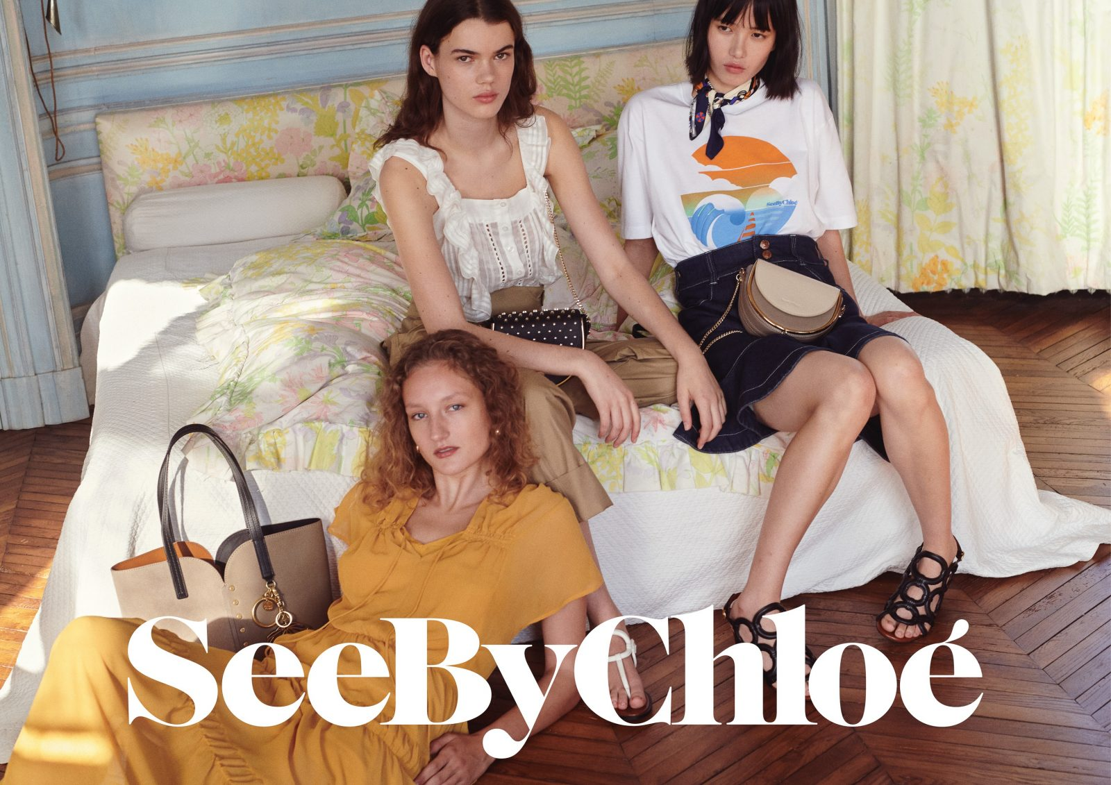 See by Chloé Summer 2020 Fashion Ad Campaign Photos