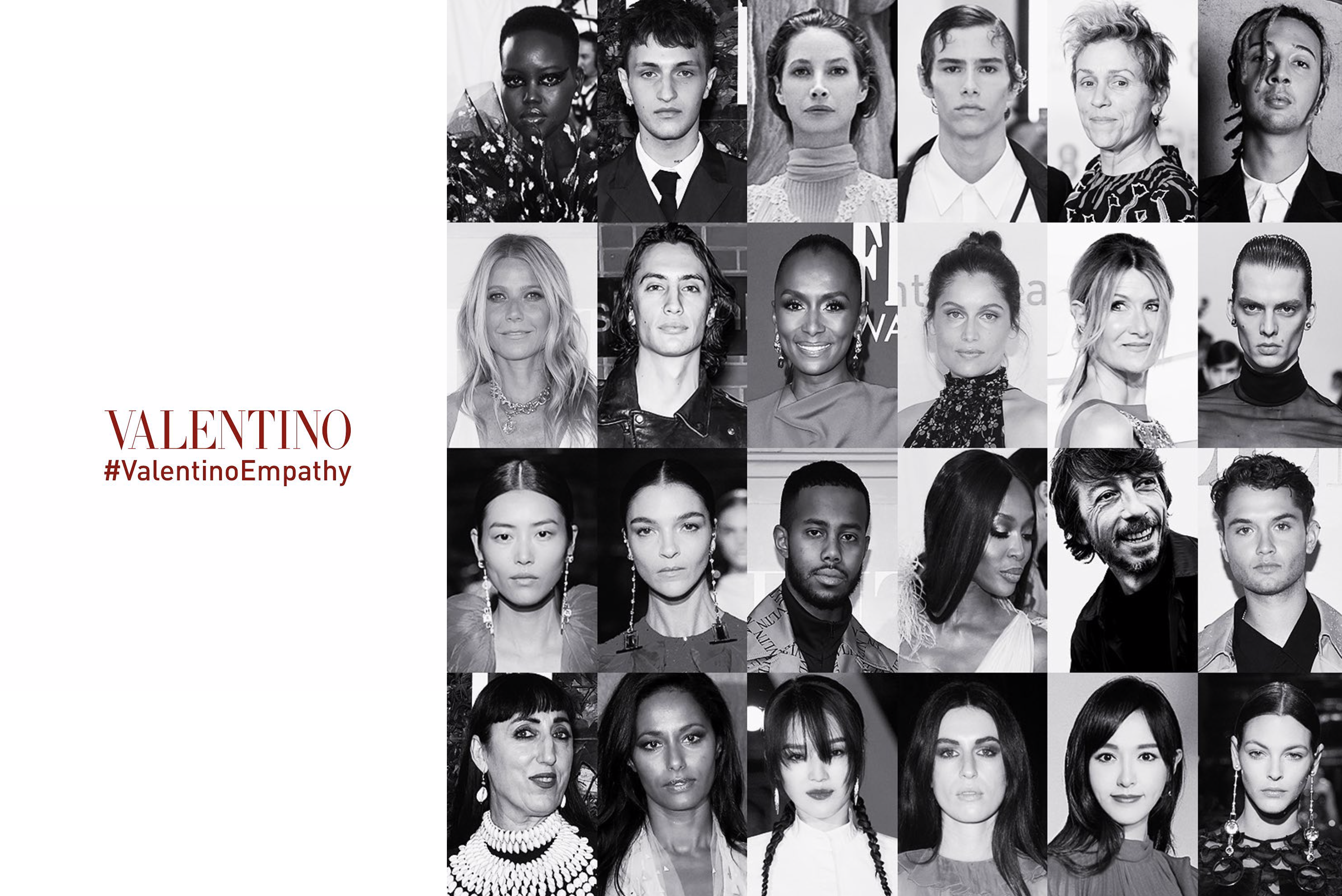Valentino's Fall Ad Campaign Centers on Empathy With Diverse Cast Shot in Their Homes