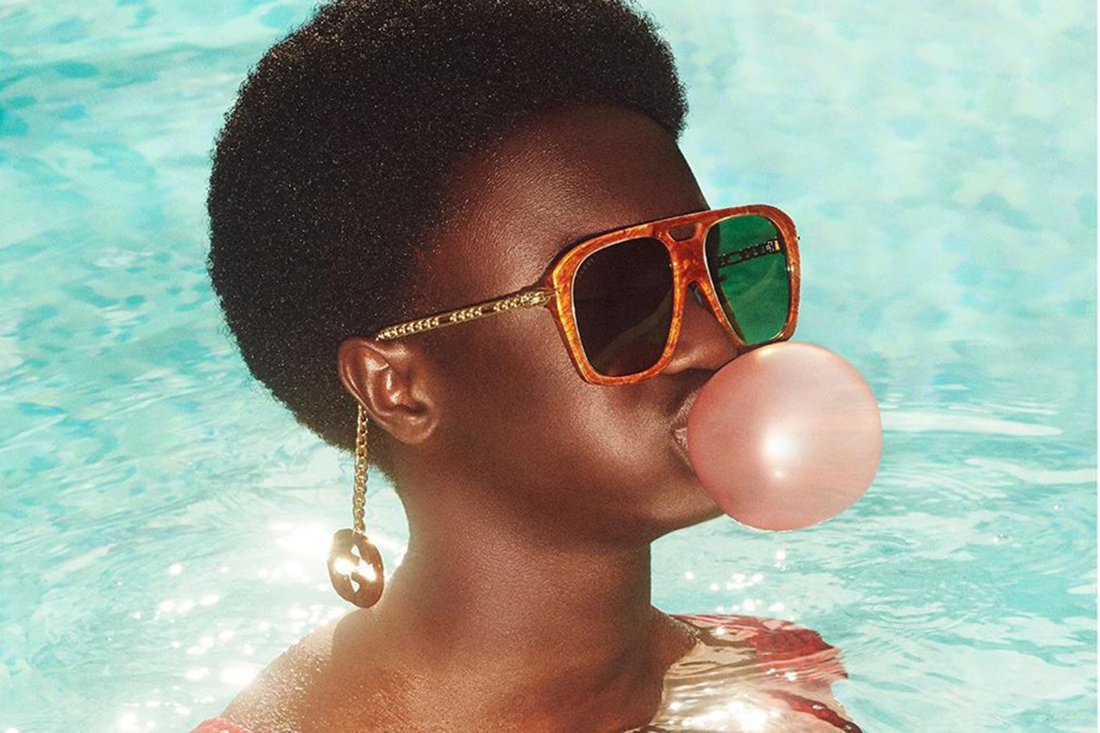 Gucci Eyewear Spring 2020 Fashion Ad Campaign Photos