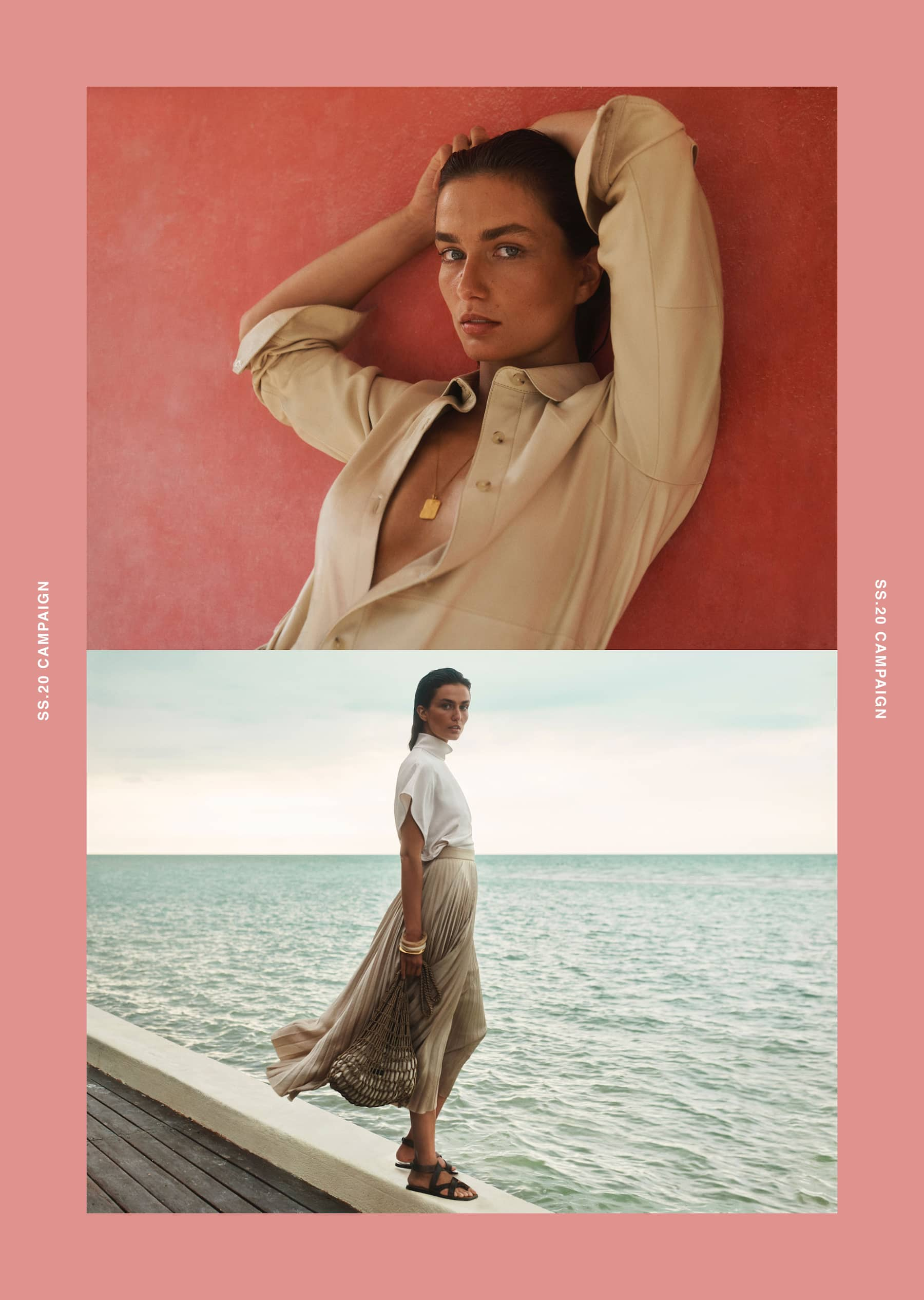Massimo Dutti Spring 2020 Fashion Ad Campaign Photos