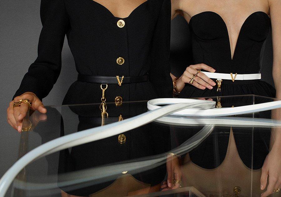 Versace Accessories Spring 2020 Fashion Ad Campaign