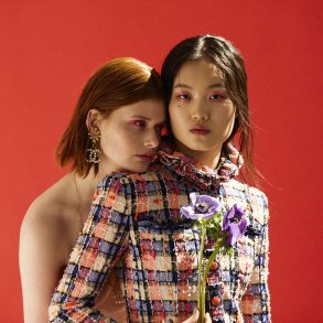 Blooming Fashion editorial by Jair Sfez and Joy Sinanian