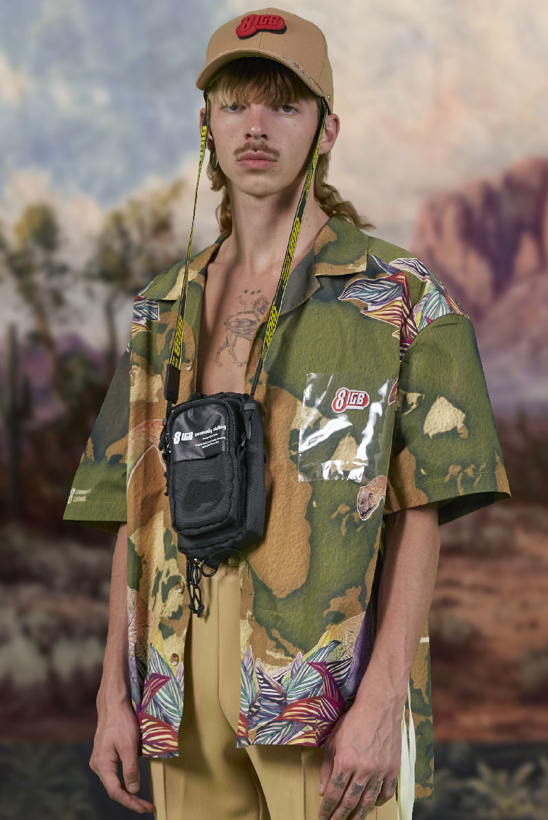 eightIGB Community Clothing Spring 2021 Men's Fashion Collection Photos