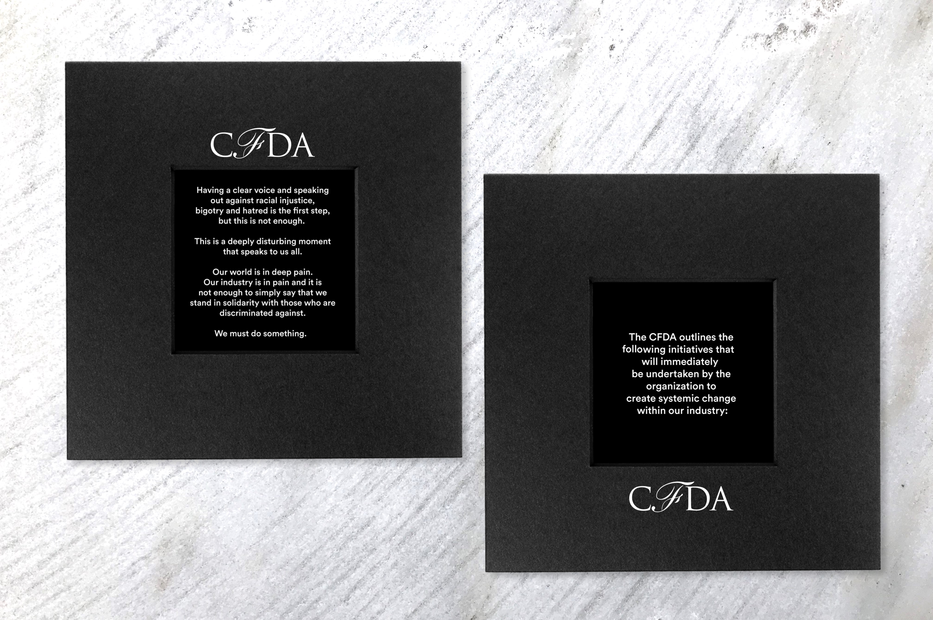 CFDA Takes Action to Combat Racism Across Industry