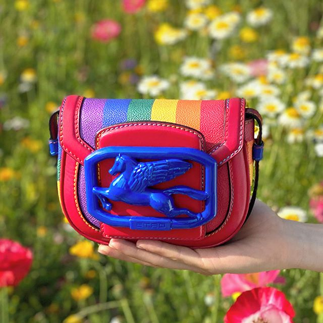 Etro Releases Pegaso Bag Celebrating Pride Month