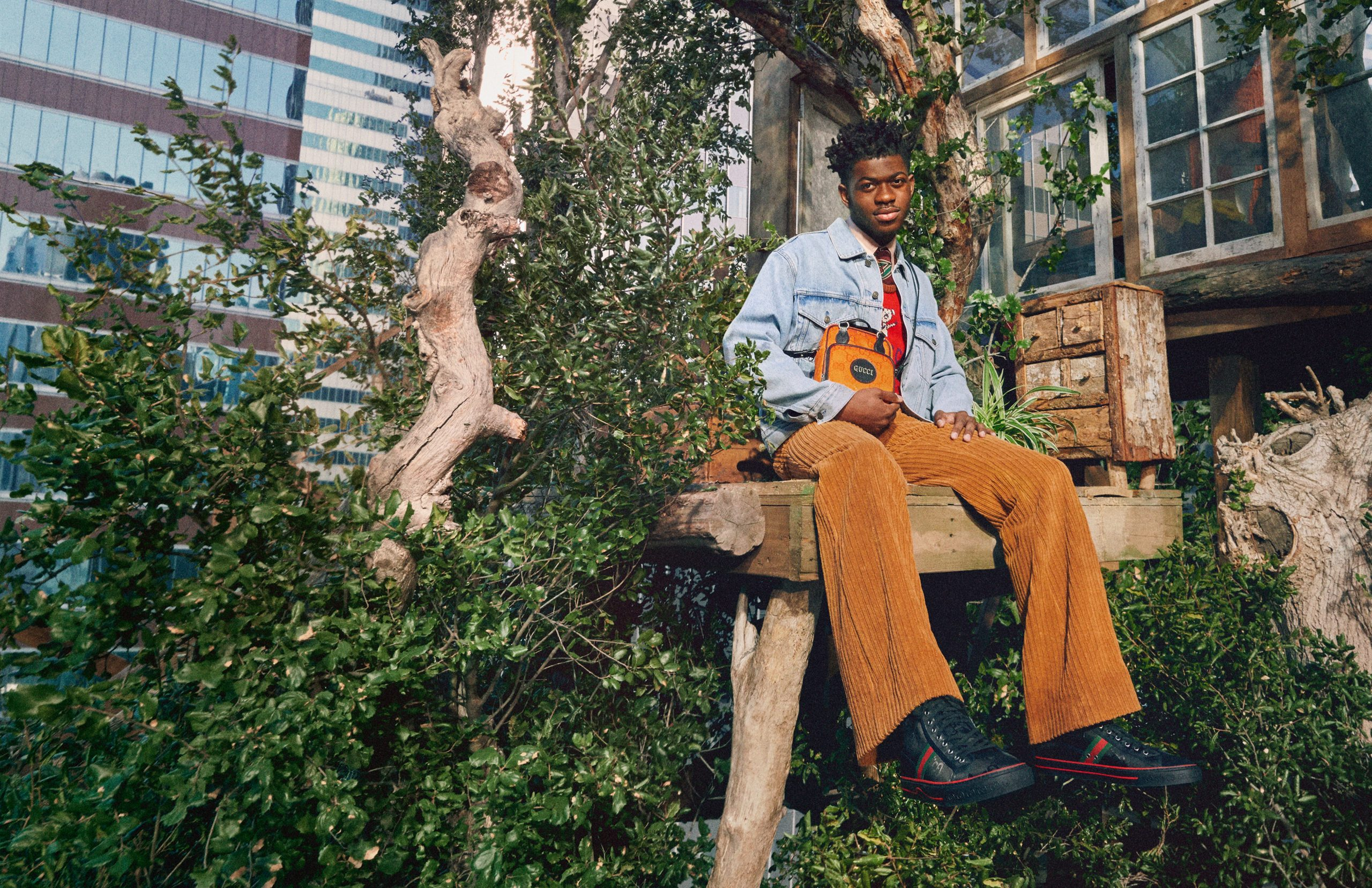 Gucci Launches Off The Grid - Circular Production Collection Campaign