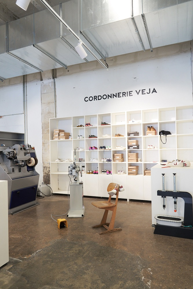 Veja Opens a Test-Hub For Repairing And Recycling at Darwin Centre