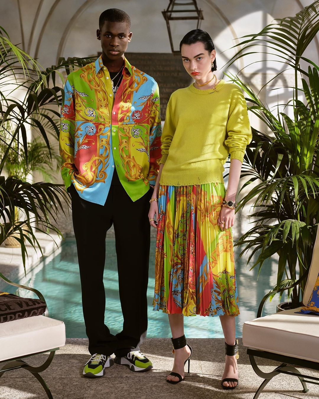 Versace Summer 2020 Capsule Collection Photos