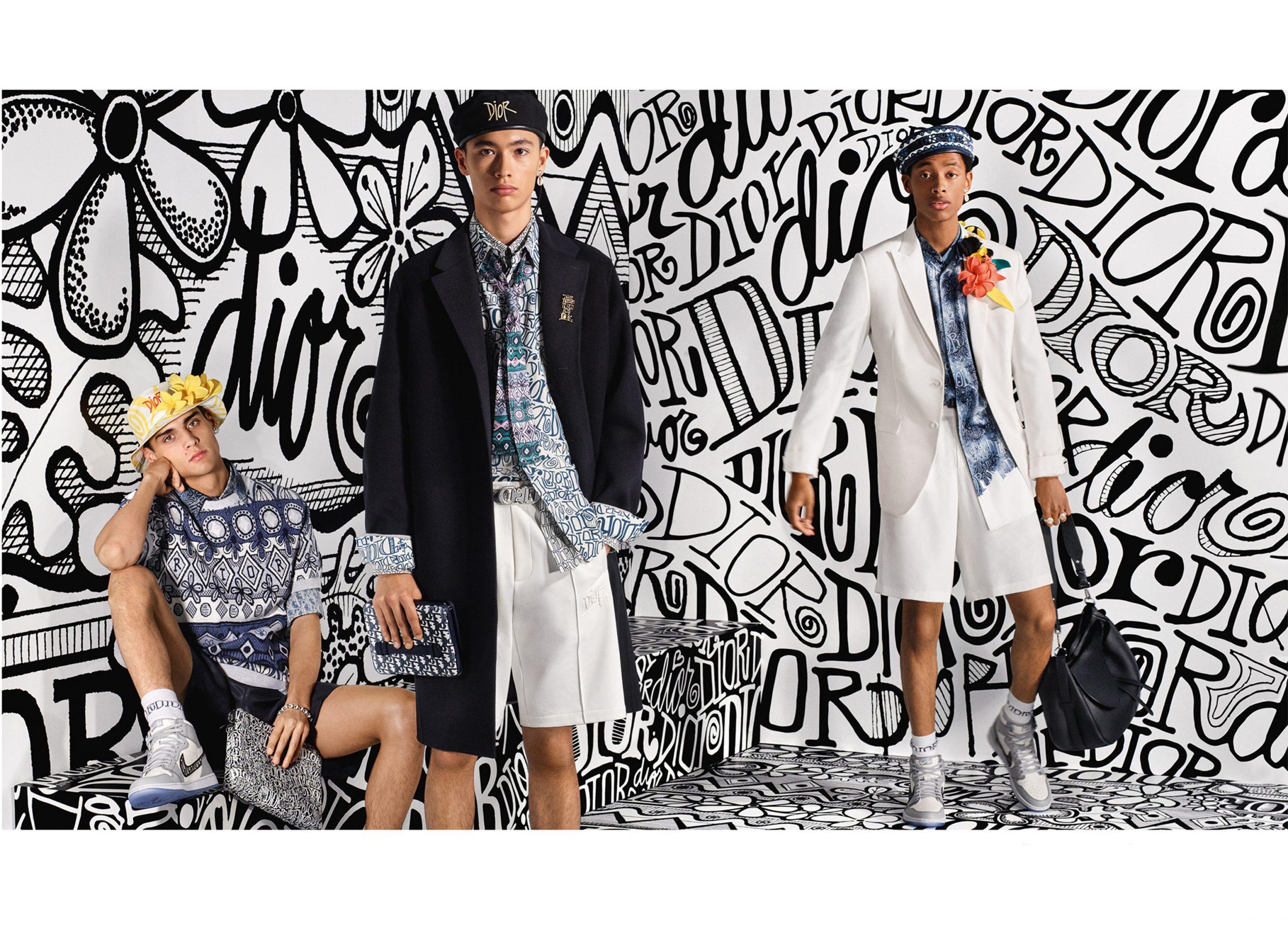 Dior Mens Pre-Fall 2020 Fashion Ad Campaign Photos