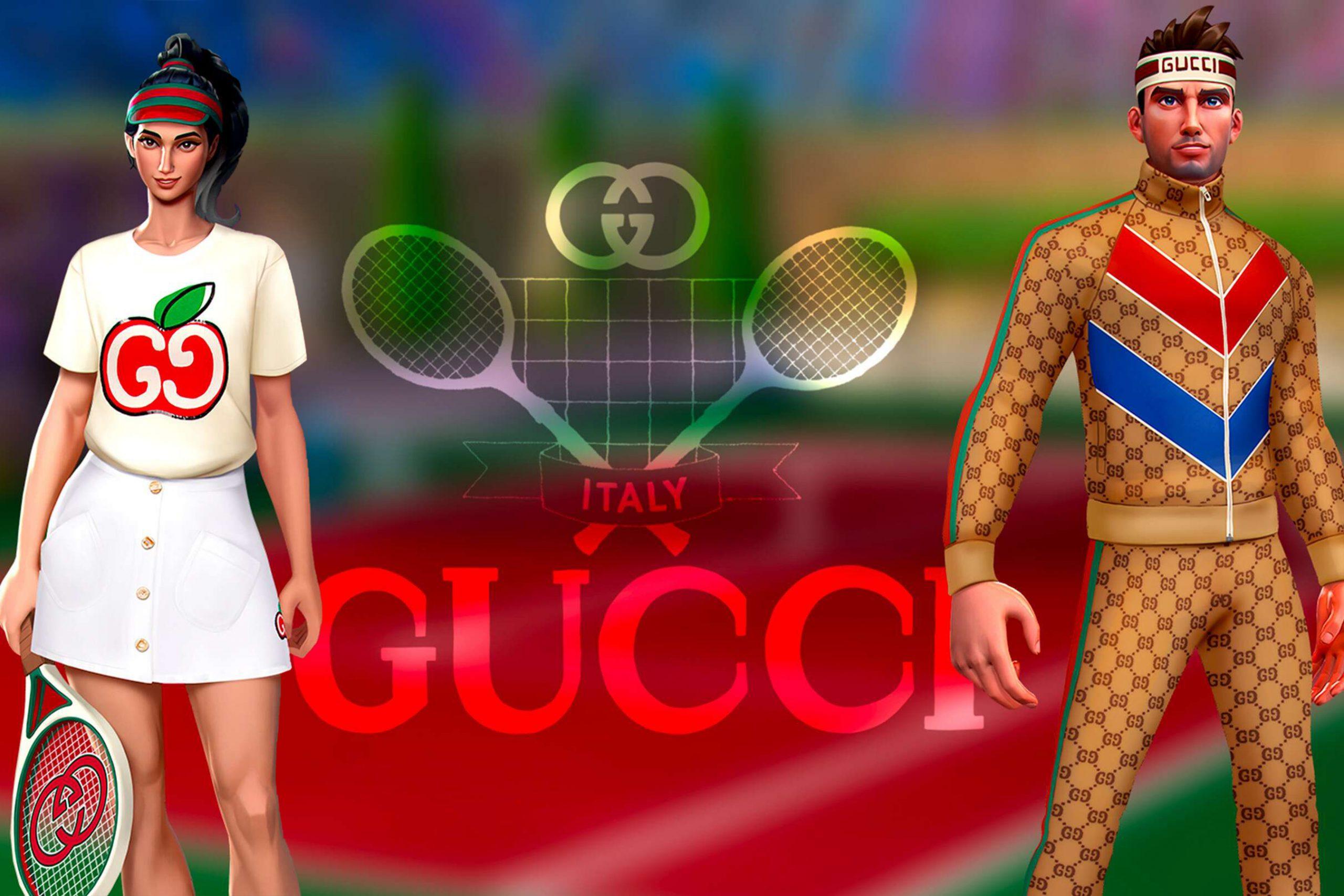 Gucci Tennis Clash Collaboration Pictures