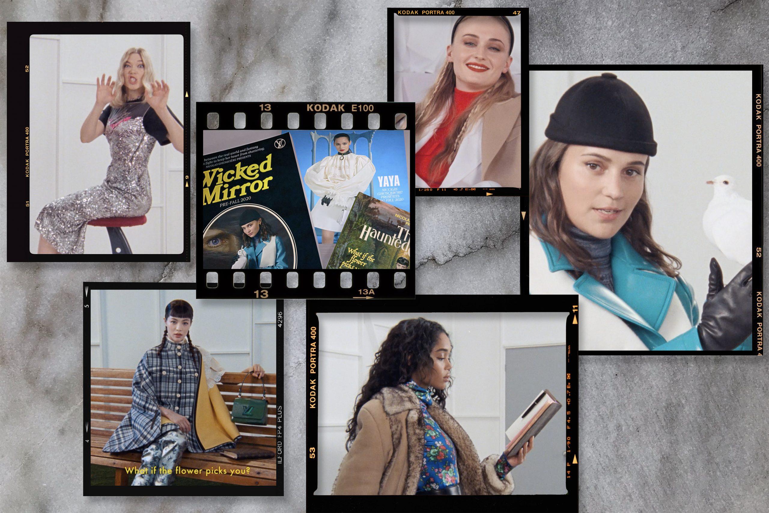 Louis Vuitton Pre-Fall 2020 Fashion Ad Campaign Photos