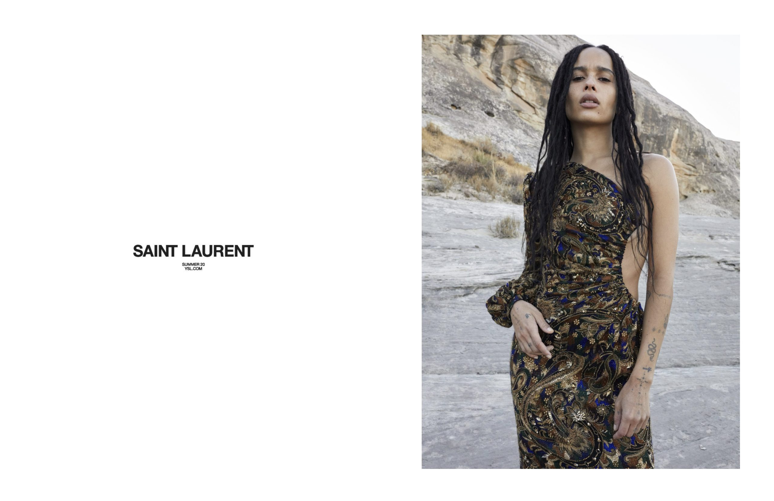 Saint Laurent Enlist Lenny Kravitz in Latest Menswear Campaign