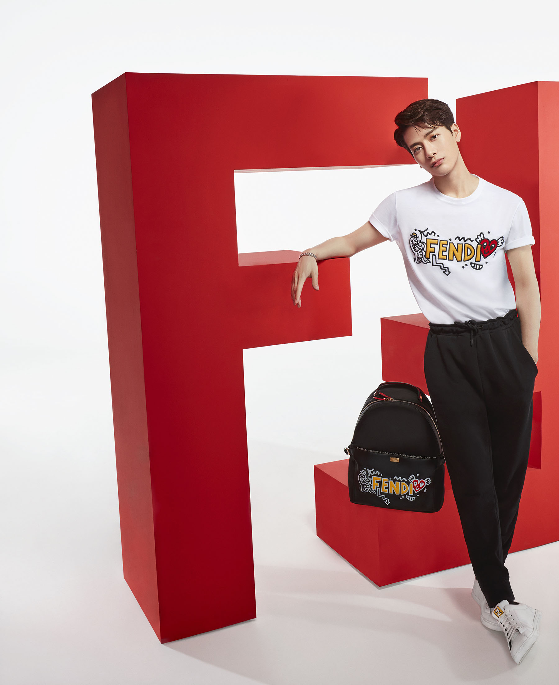 Fendi Launches Chinese Valentine's Day Campaign with Jackson Wang