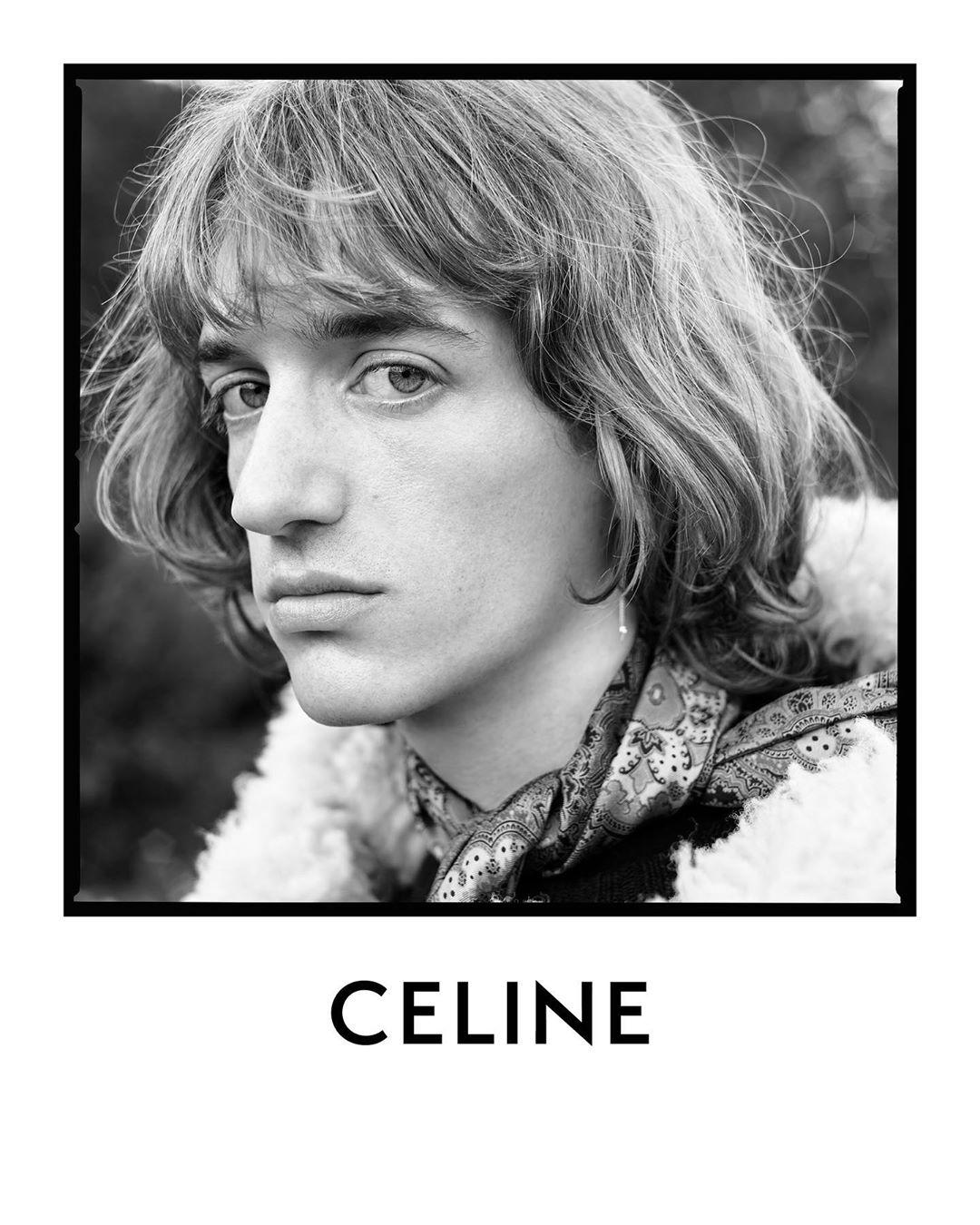 Celine Fall 2020 Fashion Men's Ad Campaign by Hedi Slimane Photos