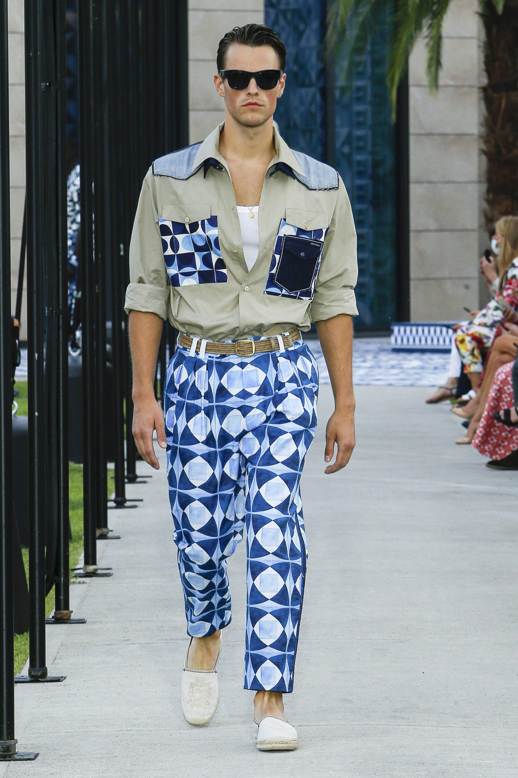 Dolce & Gabbana Spring 2021 Men's Fashion Show Review