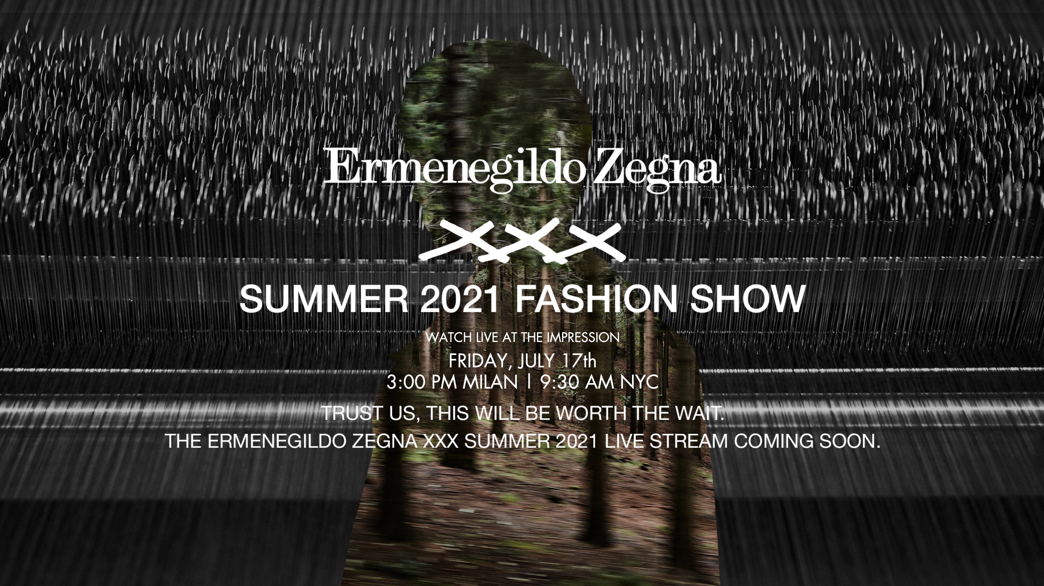 Watch Ermenegildo Zegna Men's Spring 2021 Fashion Show Live from Milan