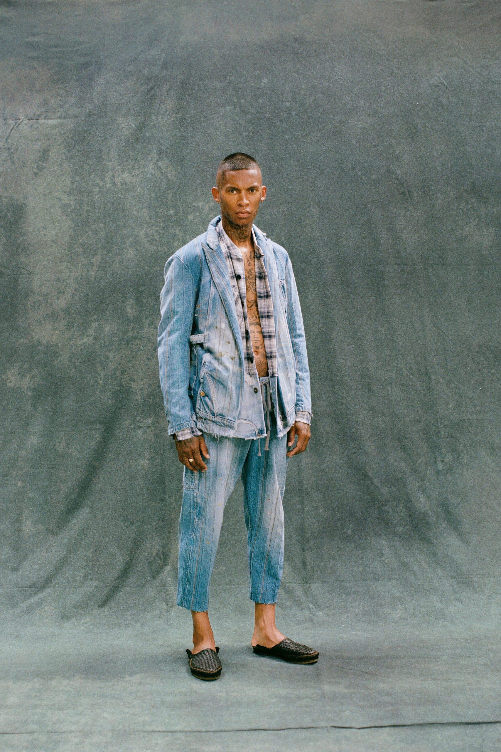Greg Lauren Spring 2021 Men's Fashion Show Photos