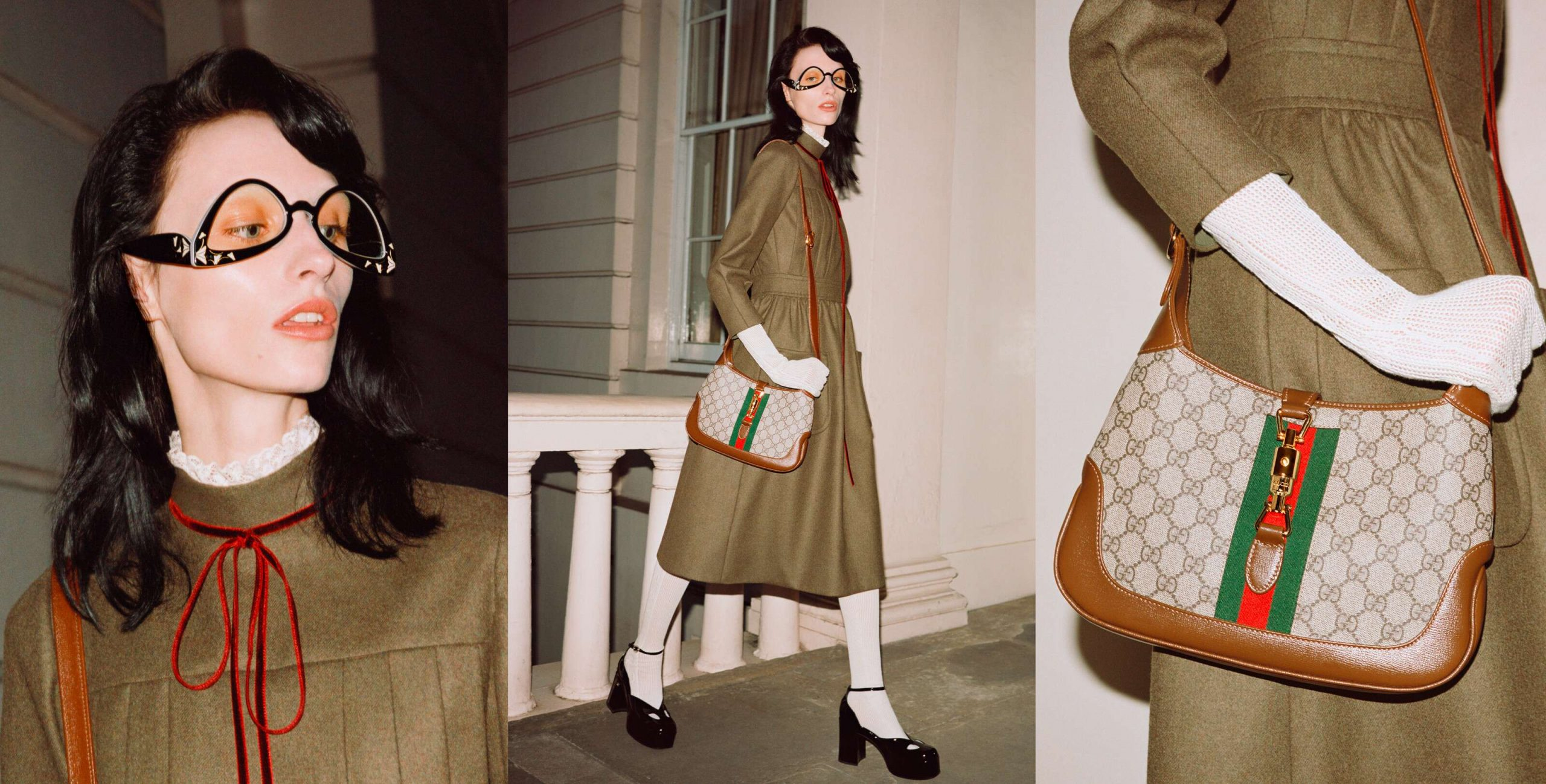 Gucci Jackie 1961 Fall 2020 Fashion Ad Campaign Photos