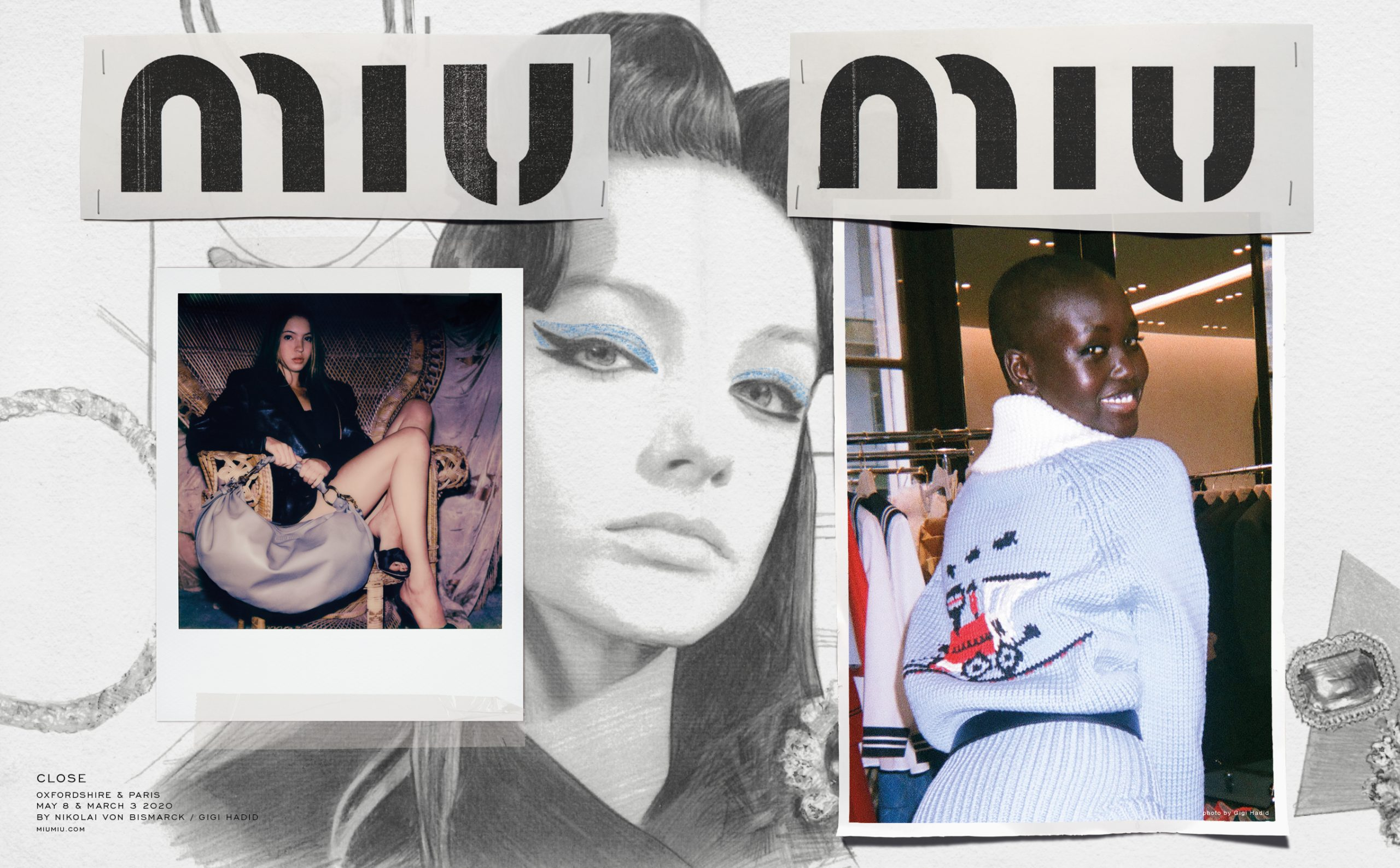 Miu Miu 'Close' Fall 2020 Ad Campaign by Katie Grand Photos
