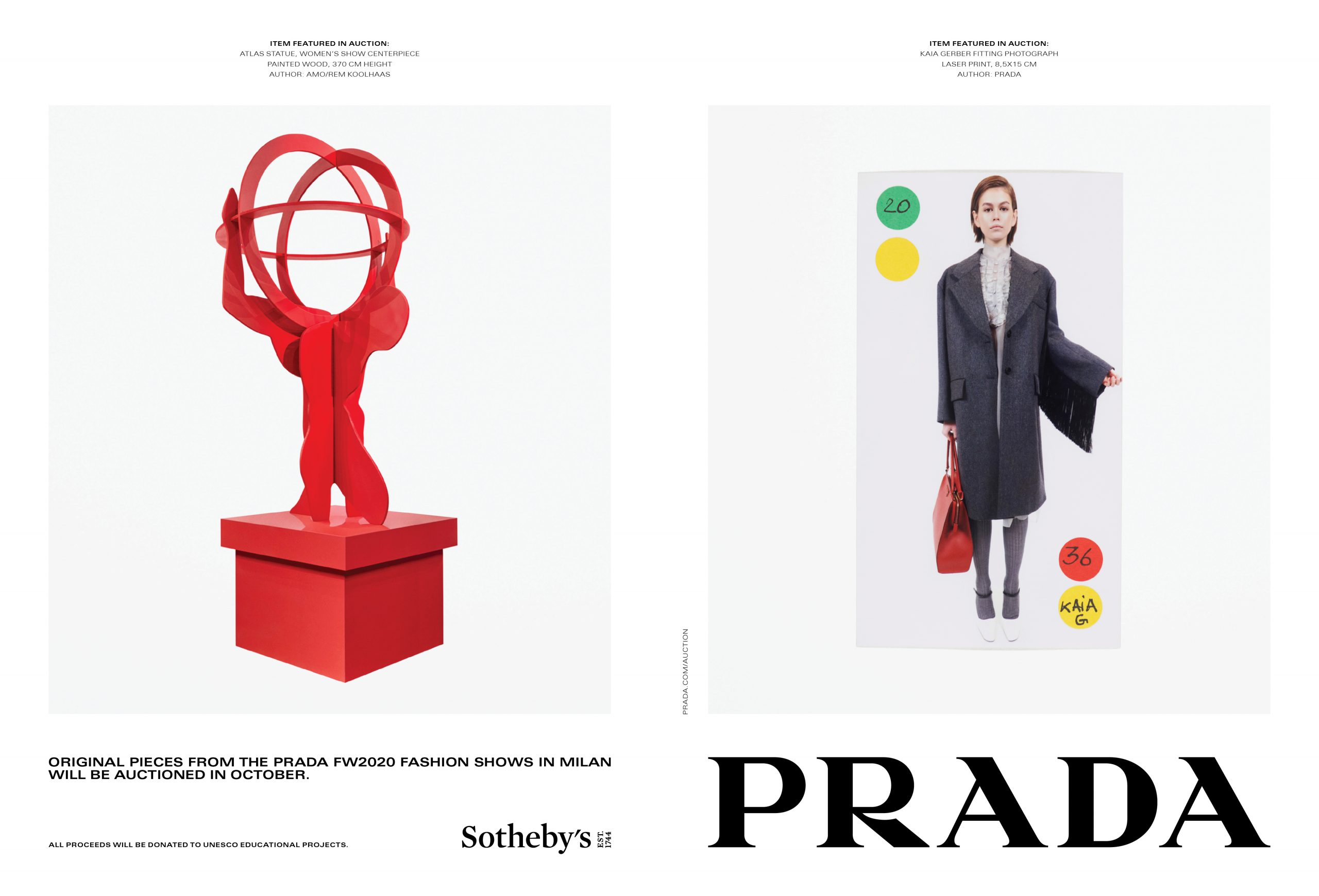 Prada Fall 2020 Fashion Ad Campaign Photos