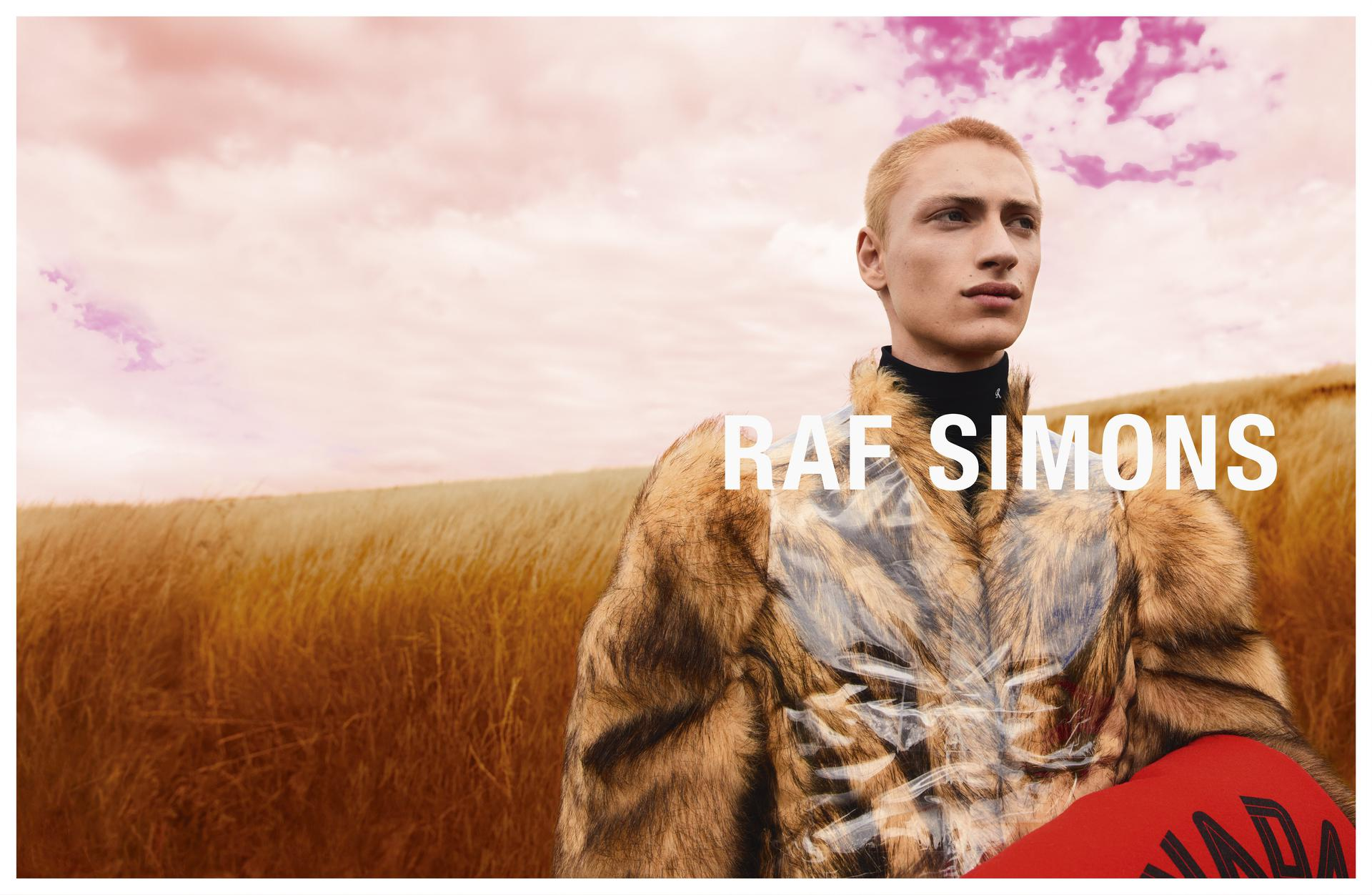 Raf Simons Fall 2020 Fashion Ad Campaign Photos