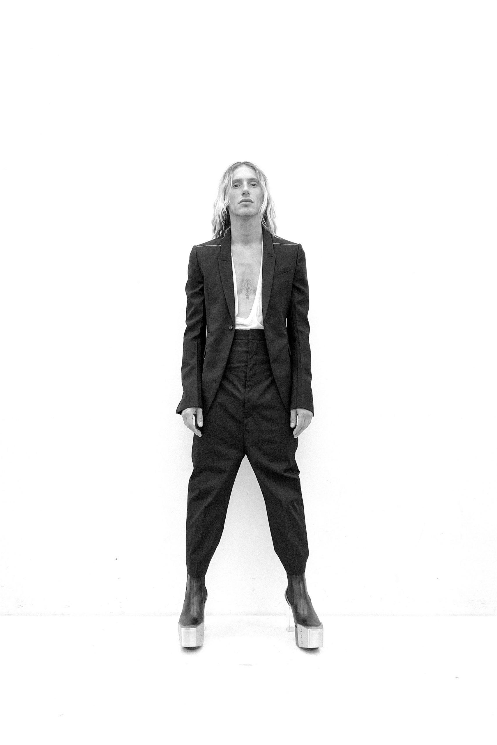 Rick Owens Spring 2021 Men's Fashion Collection Photos