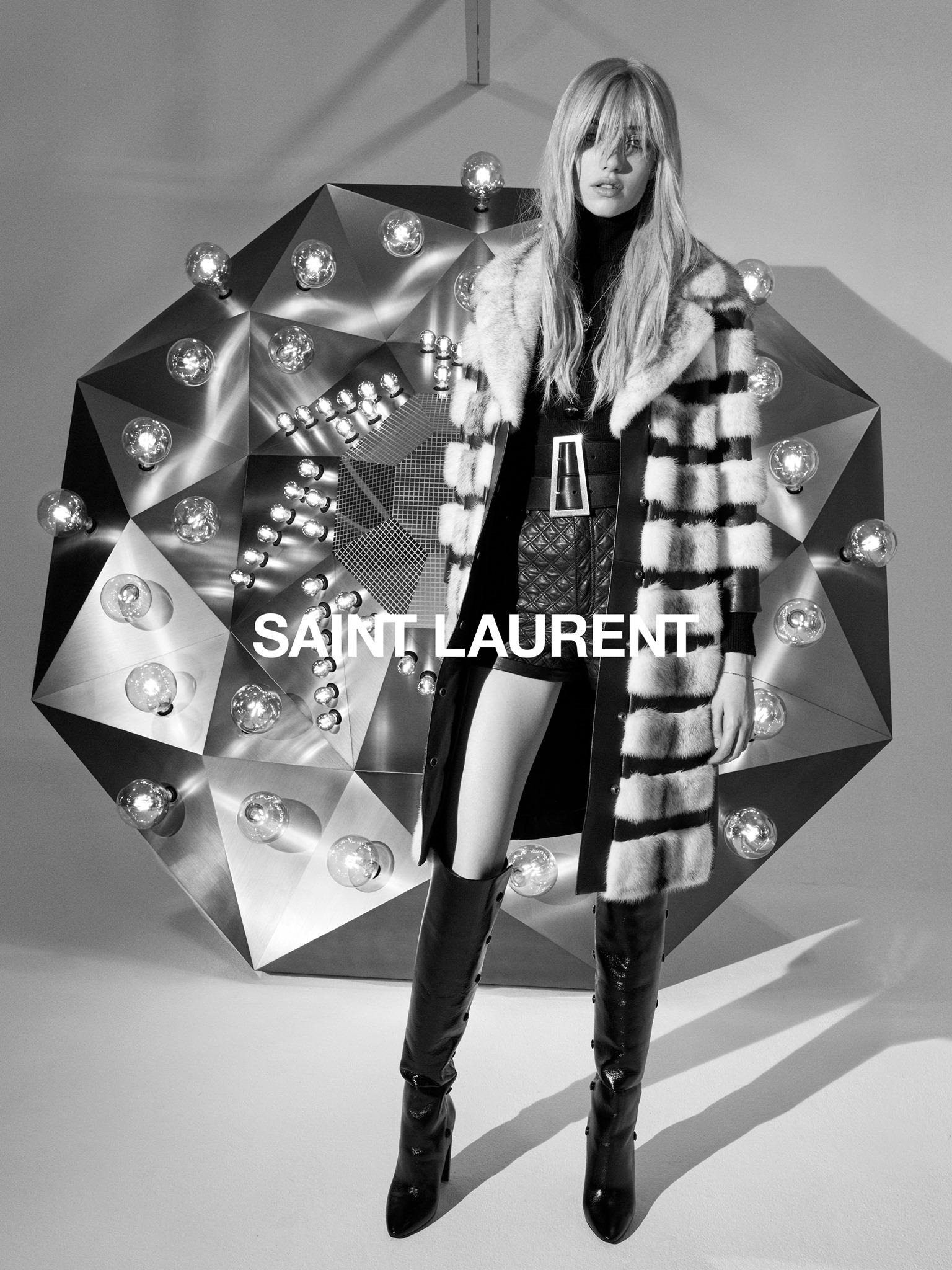 Saint Laurent #YSL33 Fall 2020 Ad Campaign Photos