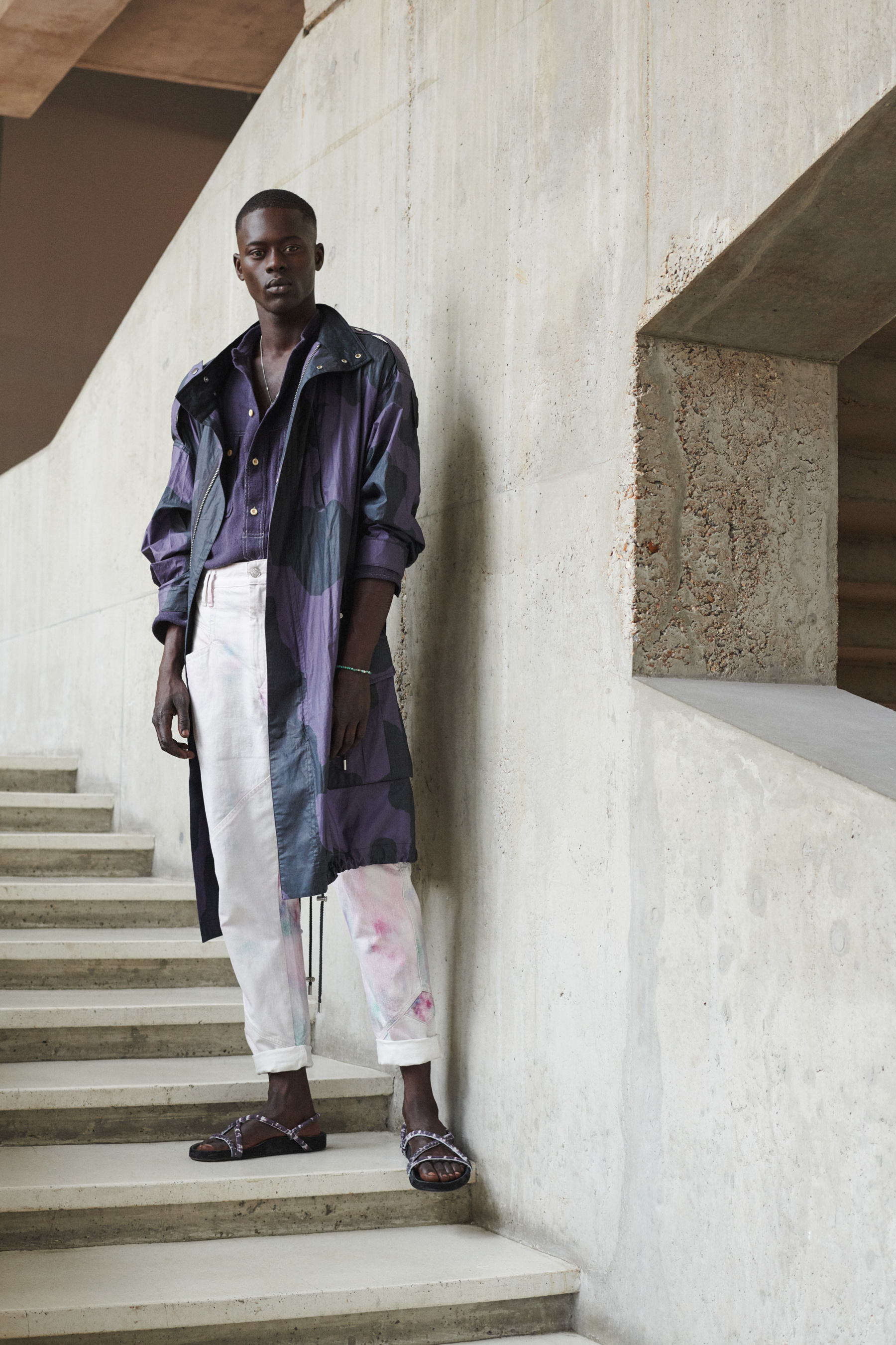 Isabel Marant Homme Spring 2021 Men's Fashion Show Photos
