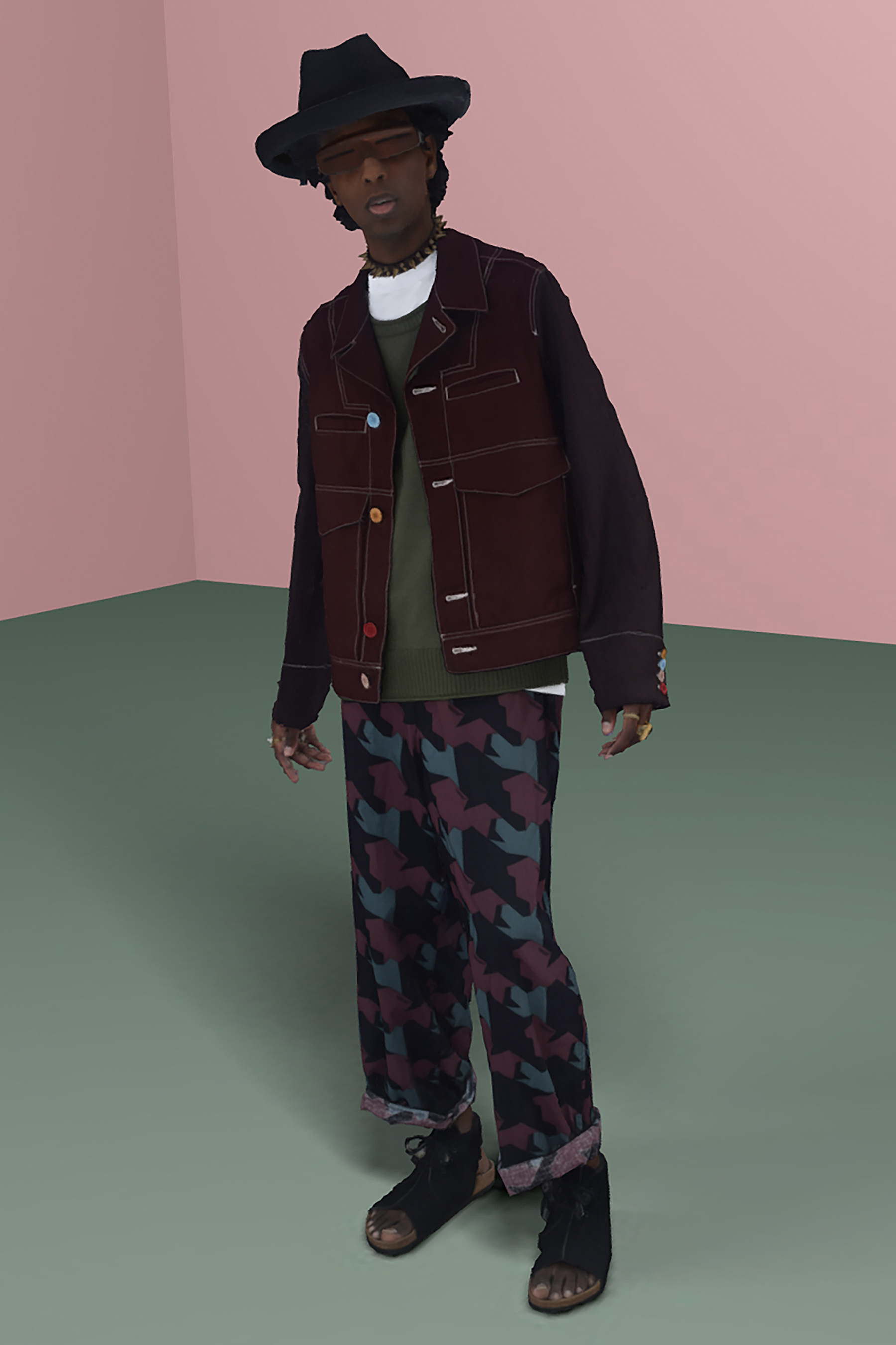 Undercover Spring 2021 Men's Fashion Show Photos