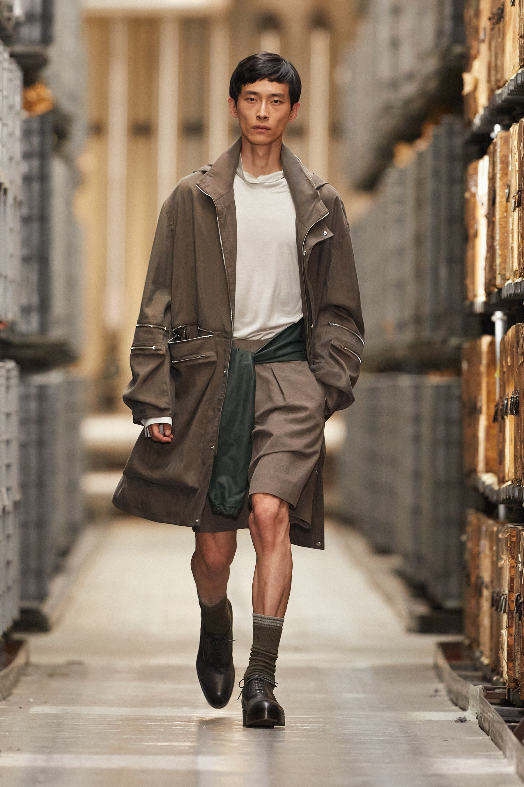 Ermenegildo Zegna Spring 2021 Men's Fashion Show Photos