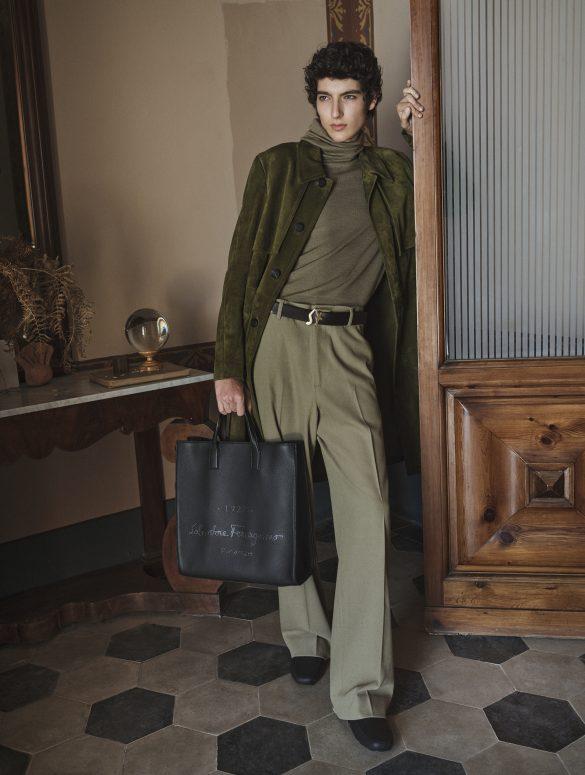 Salvatore Ferragamo 'Tornabuoni 1927' Pre-Fall 2020 Fashion Collection Photos