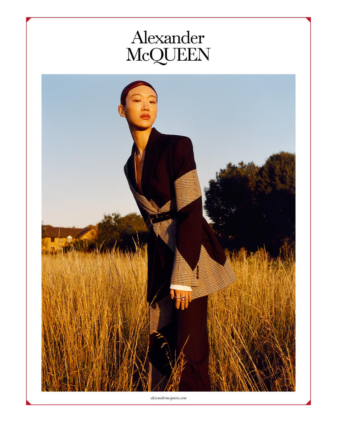 Alexander McQueen Fall 2020 Ad Campaign Photos