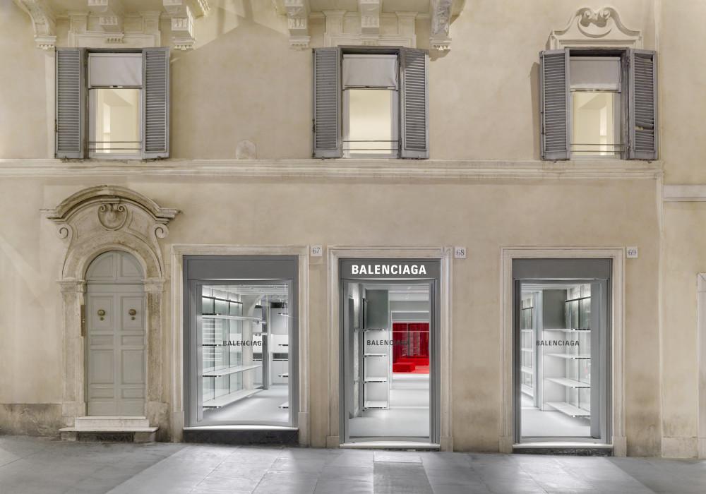 Balenciaga Opens Rome Flagship