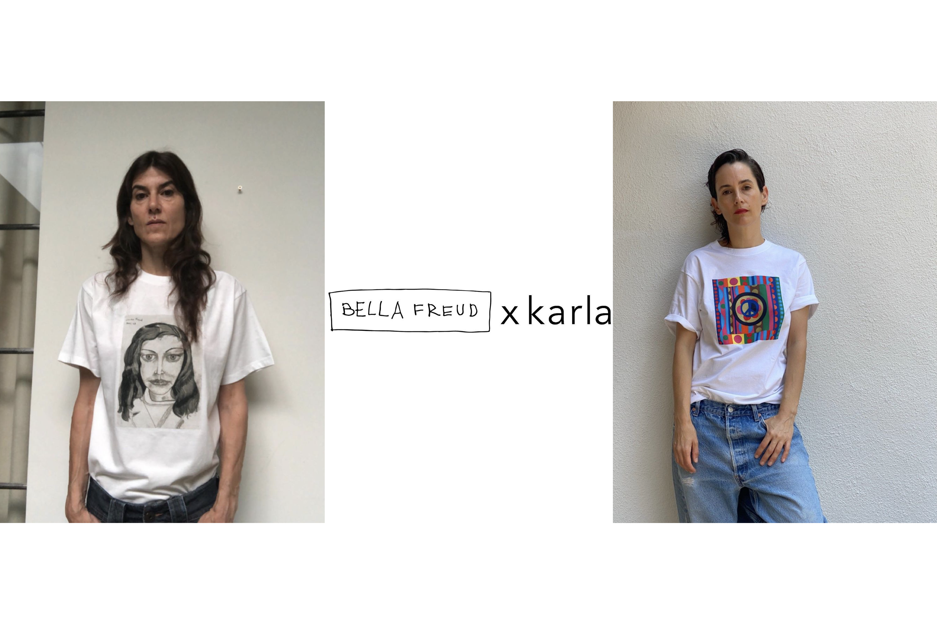 Bella Freud & Karla Welch Team for Charities