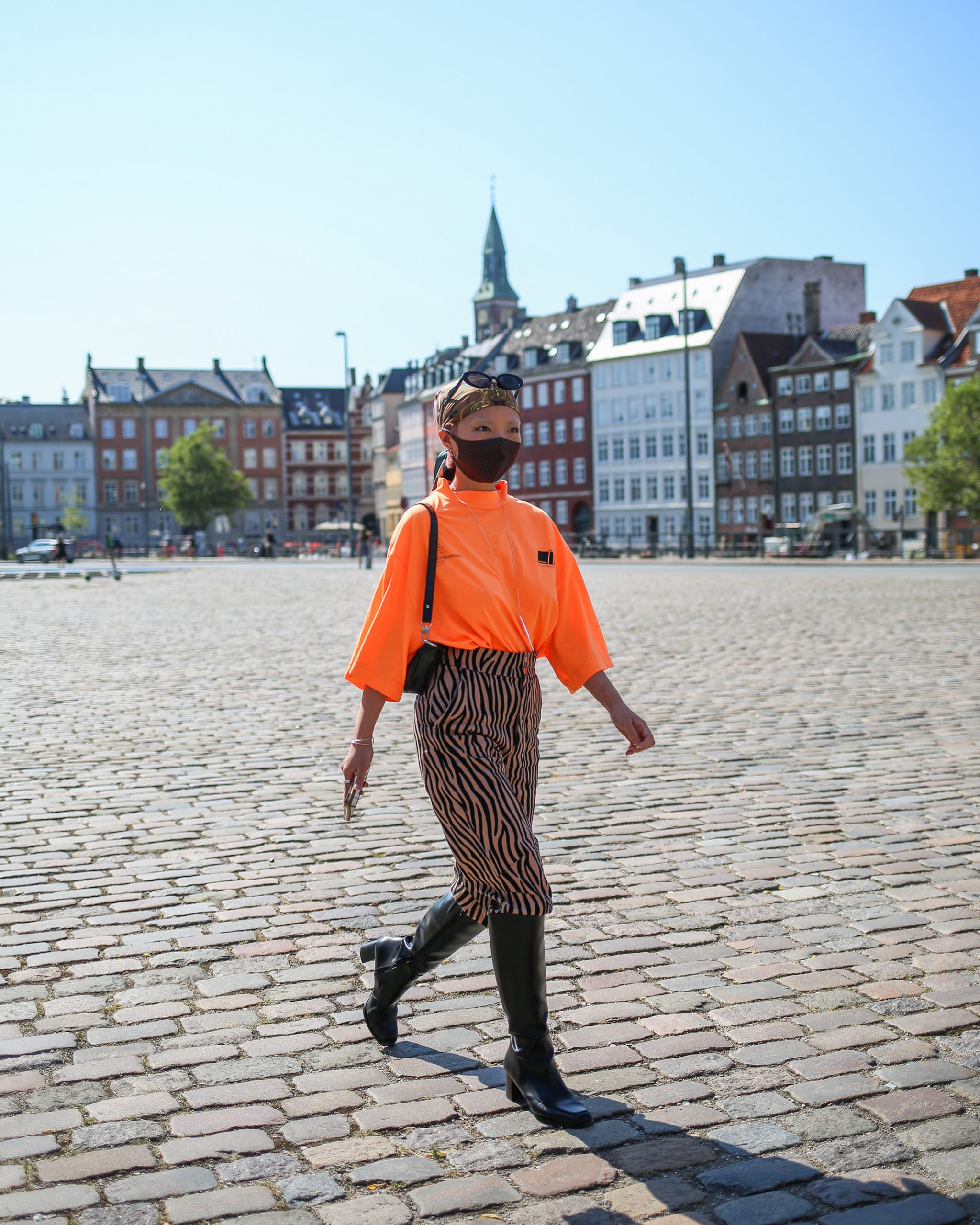 Copenhagen Fashion Week Spring 2021 Street Style Photos