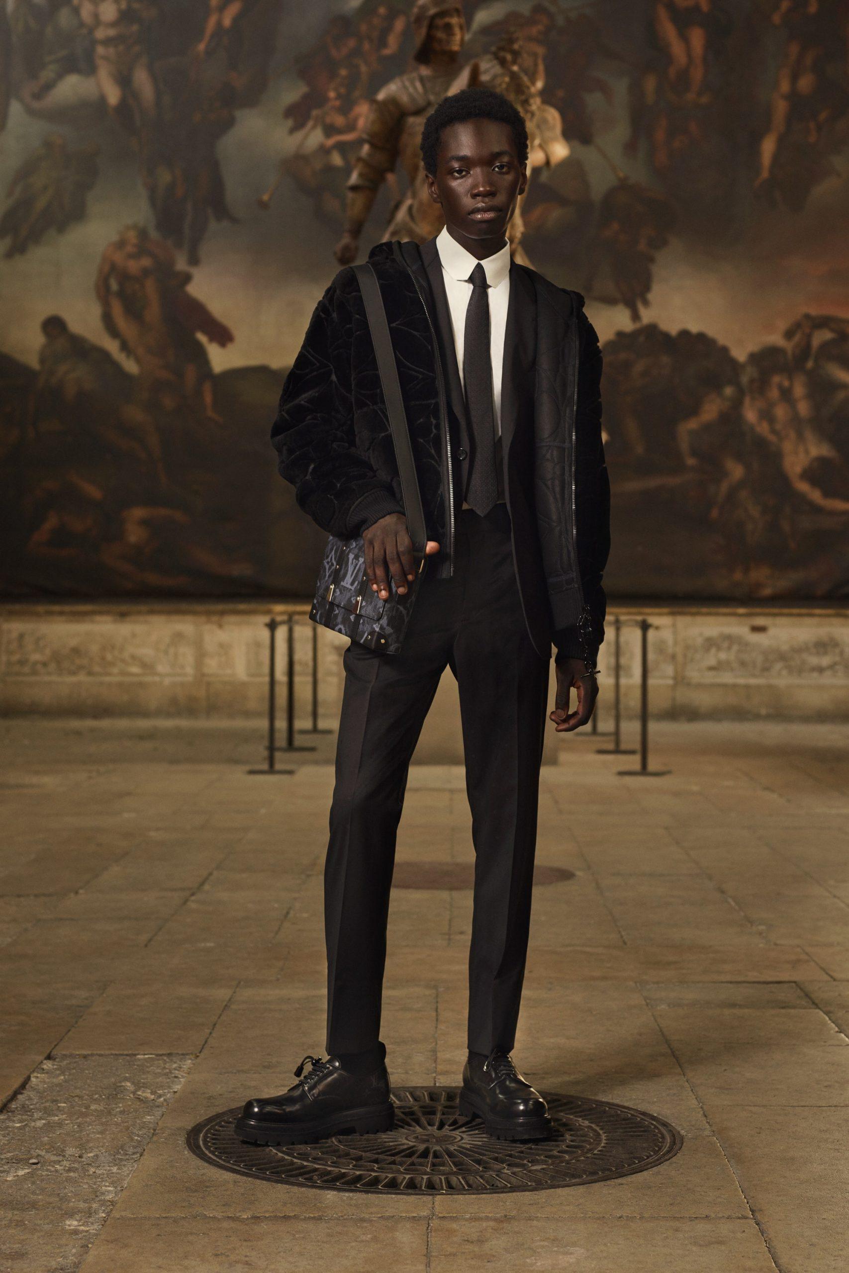 Louis Vuitton Resort 2021 Men's Fashion Collection Photos